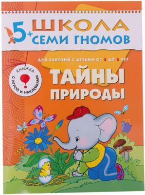Мозаика-Синтез Развивающая книга Шестой год обучения. Тайны природы