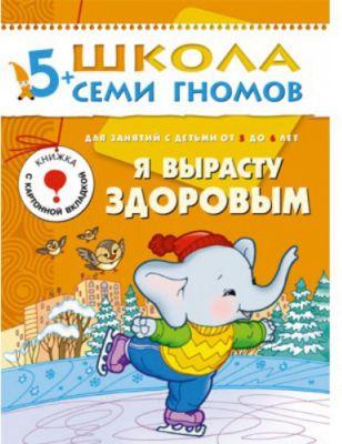 Мозаика-Синтез Развивающая книга Шестой год обучения. Я вырасту здоровым (5-6 лет)