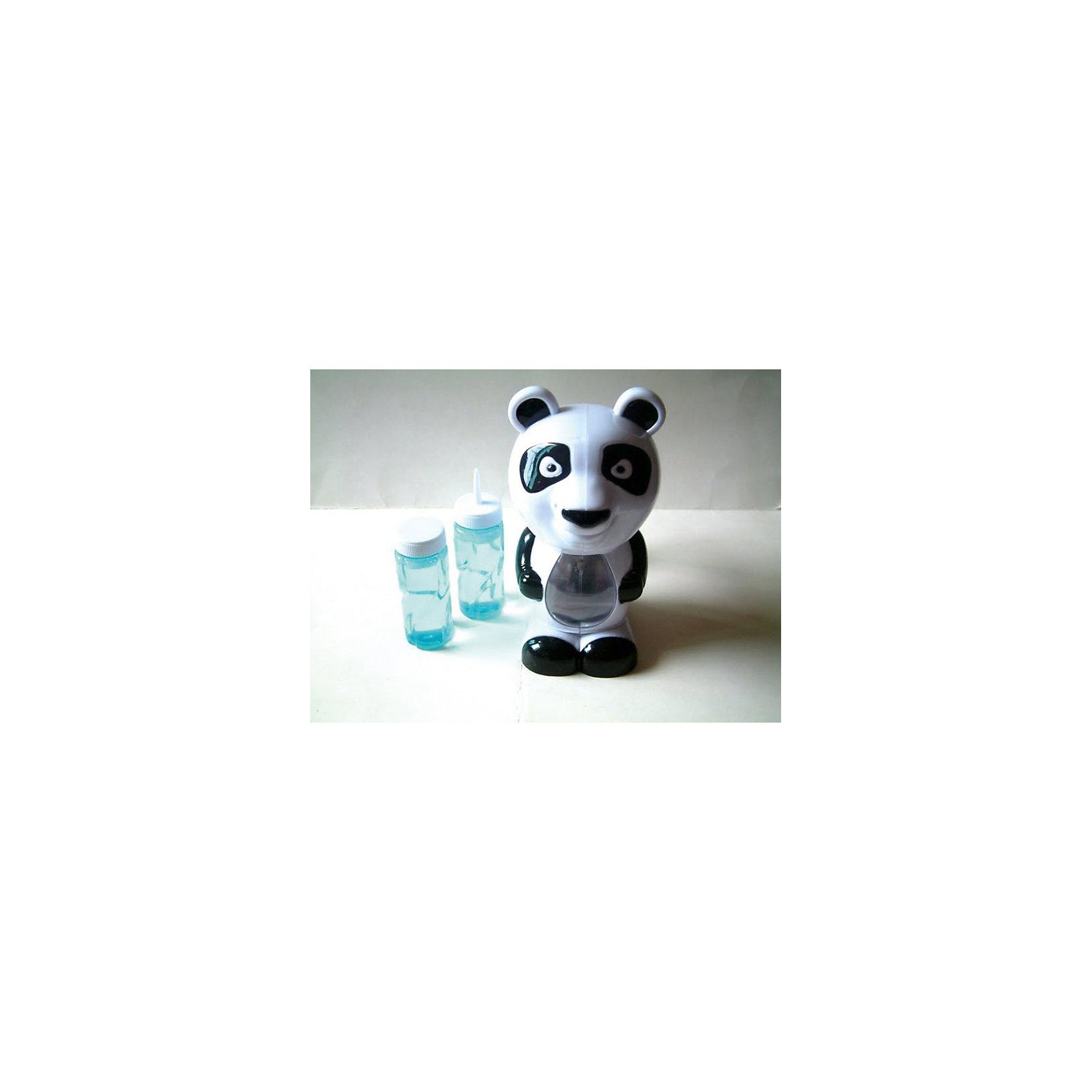 Мыльные пузыри ПандаМыльные пузыри Панда – это оригинальная игрушка, которая обязательно понравится вашему ребенку.<br>Без мыльных пузырей не обходится ни одно лето. С мыльными пузырями Панда ваш ребенок весело проведет время. При нажатии изо рта игрушки выпускаются сразу десятки пузырей под веселую детскую музыку. Животик панды, в котором находится жидкость, переливается разными цветами.<br><br>Дополнительная информация:<br><br>- В комплекте: фигурка в виде панды для делания мыльных пузырей со светодиодами, музыкальная, 2 баночки с мыльными пузырями<br>- Материал: пластик<br>- Высота фигурки: 20 см.<br>- Размер упаковки: 225 x 150 x 125 мм.<br>- Батарейки: 3 штуки типа АА (в комплект не входят)<br><br>Мыльные пузыри Панда можно купить в нашем интернет-магазине.<br><br>Ширина мм: 145<br>Глубина мм: 120<br>Высота мм: 225<br>Вес г: 400<br>Возраст от месяцев: 36<br>Возраст до месяцев: 1188<br>Пол: Унисекс<br>Возраст: Детский<br>SKU: 3720512