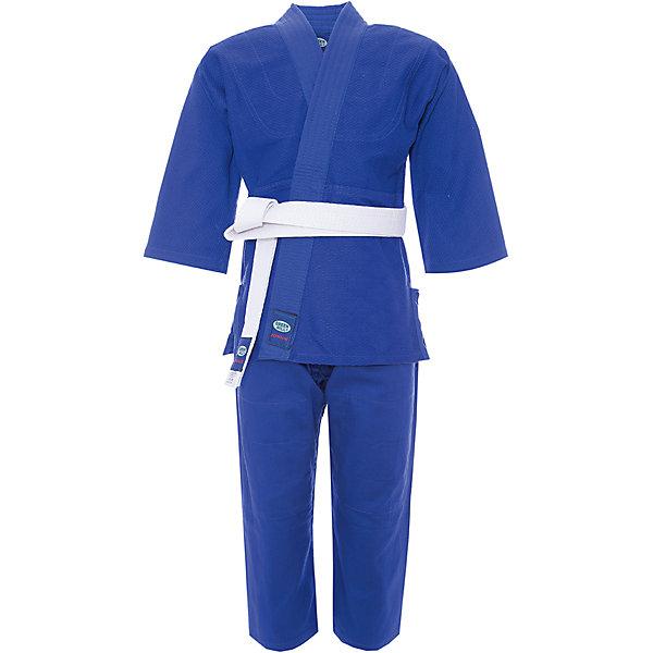 Кимоно Дзю-до JUNIOR  GREEN HILLСпортивная одежда<br>Кимоно Дзюдо Junior для начинающих спортсменов. Кимоно специально разработано для тренировок юношей. Куртка усилена двойными швами на плечах, рукавах и груди. На плечах имеется пространство для нашивки национального флага страны. В комплект включен белый пояс для куртки.<br><br>Дополнительная информация:<br><br>- Плотность 350г\кв.м<br>- Состав: хлопок 100%<br>- Размер упаковки:140 х 3 х 45 мм<br>- Вес с упаковкой: 970 г.<br><br>Кимоно Дзюдо JUNIOR  GREEN HILL можно купить в нашем магазине.<br><br>Ширина мм: 110<br>Глубина мм: 3<br>Высота мм: 45<br>Вес г: 965<br>Цвет: синий<br>Возраст от месяцев: 72<br>Возраст до месяцев: 144<br>Пол: Мужской<br>Возраст: Детский<br>Размер: 100,130,110,120<br>SKU: 3722402
