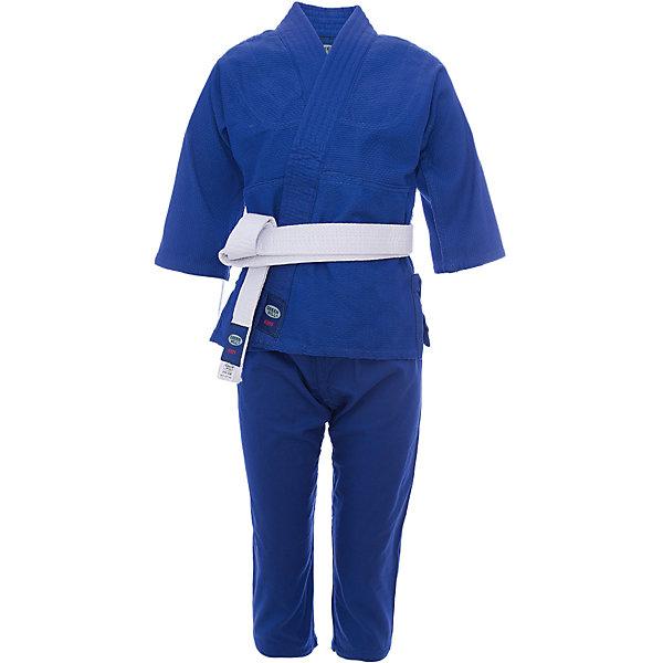 Кимоно Дзю-до KIDS  GREEN HILLСпортивная одежда<br>Кимоно Дзюдо KIDS Green Hill JSC-10464 - детская модель, хорошо подходит для тренировок, благодаря своему натуральному составу из 100% хлопка. Плотность ткани 226г/кв.м - оптимальное соотношение износостойкости и легкости. Двойные швы на плечах, груди, рукавах – обеспечивают дополнительную прочность куртки. Вставки в пройме, в районе колен брюк обеспечивают их дополнительную прочность. В комплект входит белый пояс.<br><br>Дополнительная информация:<br><br>- Состав: хлопок 100%<br>- Плотность ткани 226г/кв.м<br>- Размер упаковки:160 х 3 х 50 мм<br>- Вес с упаковкой: 980 г.<br><br>Кимоно Дзюдо KIDS  GREEN HILL можно купить в нашем магазине.<br>Ширина мм: 130; Глубина мм: 3; Высота мм: 35; Вес г: 970; Цвет: синий; Возраст от месяцев: 72; Возраст до месяцев: 144; Пол: Мужской; Возраст: Детский; Размер: 120,150,110; SKU: 3722416;