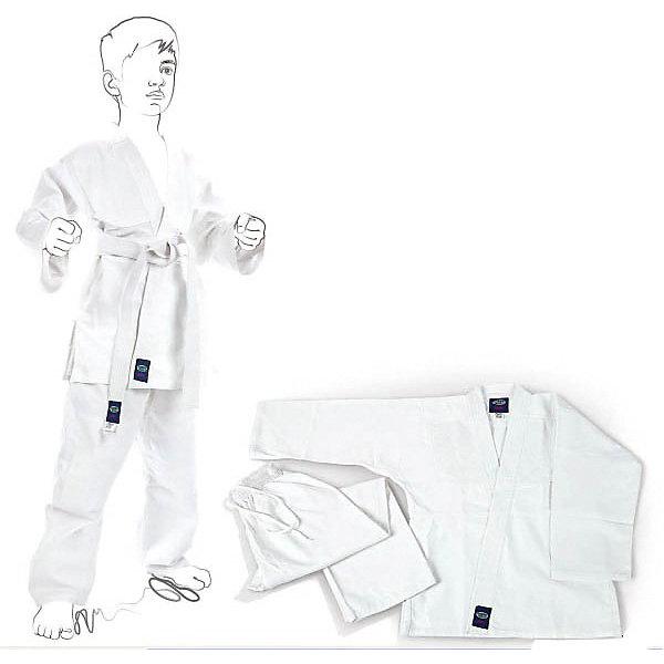 Кимоно Каратэ JUNIOR  GREEN HILLСпортивная одежда<br>Кимоно для занятий карате, в комплекте с белым поясом. Предназначено для тренировок. <br><br>Дополнительная информация:<br><br>- Состав: хлопок 100%<br>- Размер упаковки:150 х 2 х 45 мм<br>- Вес с упаковкой: 500 г.<br><br>Кимоно Каратэ JUNIOR  GREEN HILL можно купить в нашем магазине.<br><br>Ширина мм: 140<br>Глубина мм: 2<br>Высота мм: 45<br>Вес г: 500<br>Цвет: белый<br>Возраст от месяцев: 72<br>Возраст до месяцев: 144<br>Пол: Мужской<br>Возраст: Детский<br>Размер: 120,150,130,140<br>SKU: 3722420