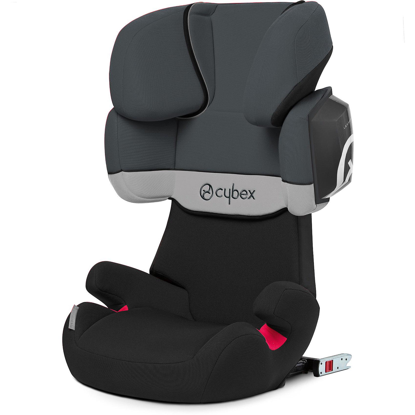 Автокресло Cybex Solution X2-Fix, 15-36 кг, Gray RabbitАвтокресла с креплением Isofix<br>Удобное надежное автокресло позволит перевозить ребенка, не беспокоясь при этом о его безопасности. Оно предназначено для предназначено для детей весом до 36 килограмм, можно использовать уже для 9-месячных малышей. Такое кресло обеспечит малышу не только безопасность, но и комфорт (регулируемая высота подголовника). Кресло легко трансформируется по мере вырастания ребенка.<br>Автокресло устанавливают по ходу движения. Такое кресло дает возможность свободно путешествовать, ездить в гости и при этом  быть рядом с малышом. Конструкция - очень удобная и прочная. Изделие произведено из качественных и безопасных для малышей материалов, оно соответствуют всем современным требованиям безопасности. Оно отлично показало себя на краш-тестах.<br> <br>Дополнительная информация:<br><br>цвет: серый;<br>материал: текстиль, пластик;<br>вес ребенка: до 36 кг (3 года - 12 лет);<br>регулируемый по высоте подголовник;<br>съемный чехол;<br>по мере взросления ребенка трансформируется; <br>регулируемый угол наклона;<br>можно использовать со штатными ремнями или с дополнительной базой;<br>крепление по ходу движения;<br>система защиты от боковых ударов;<br>соответствие Европейскому стандарту безопасности ЕСЕ R44/04.<br><br>АвтокреслоJuno Solution X2-Fix, Gray Rabbit, от компании Cybex можно купить в нашем магазине.<br><br>Ширина мм: 770<br>Глубина мм: 480<br>Высота мм: 295<br>Вес г: 8200<br>Цвет: серый<br>Возраст от месяцев: 9<br>Возраст до месяцев: 144<br>Пол: Унисекс<br>Возраст: Детский<br>SKU: 3722567