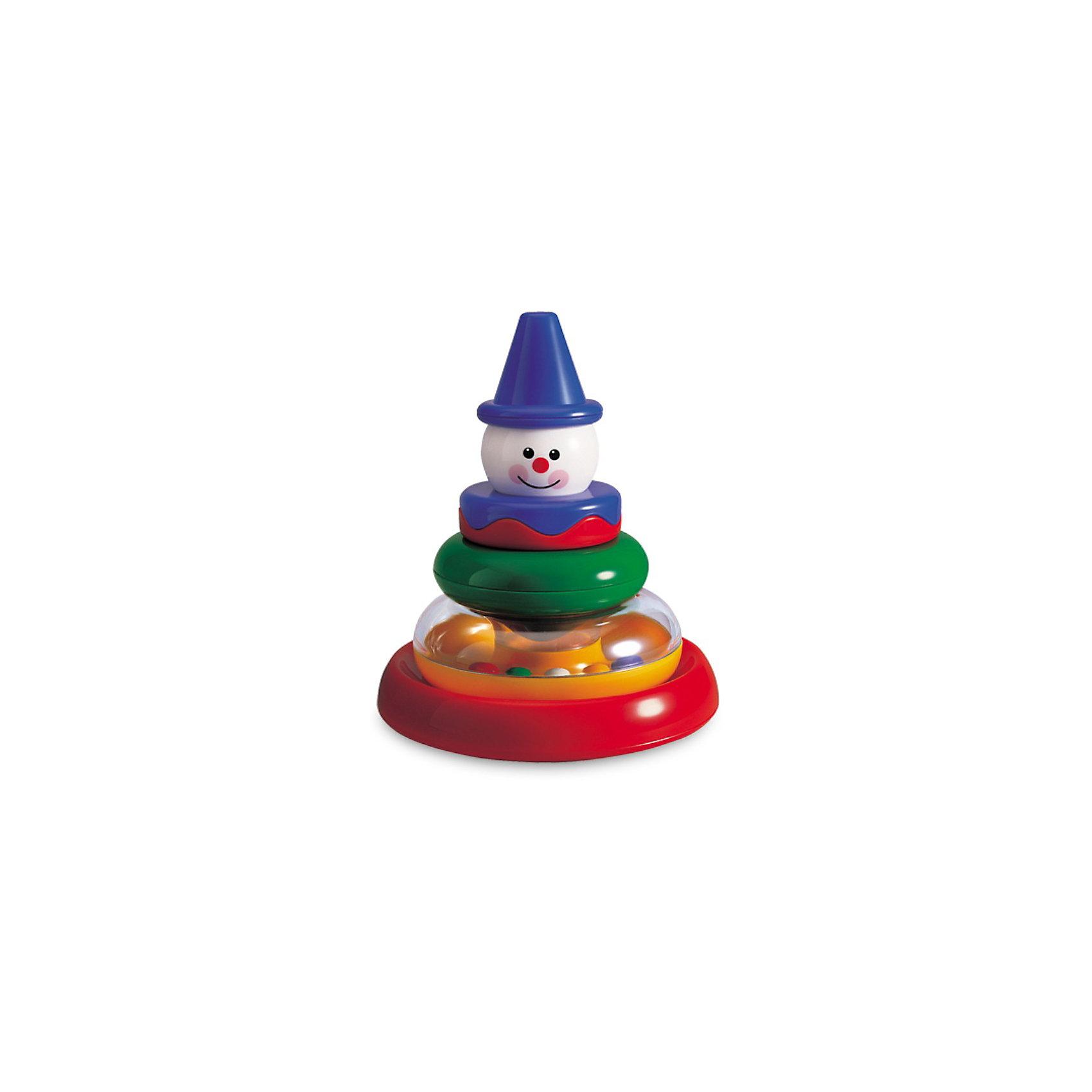 TOLO Пирамидка Клоун, TOLO CLASSIC набор развивающий tolo toys динозавры