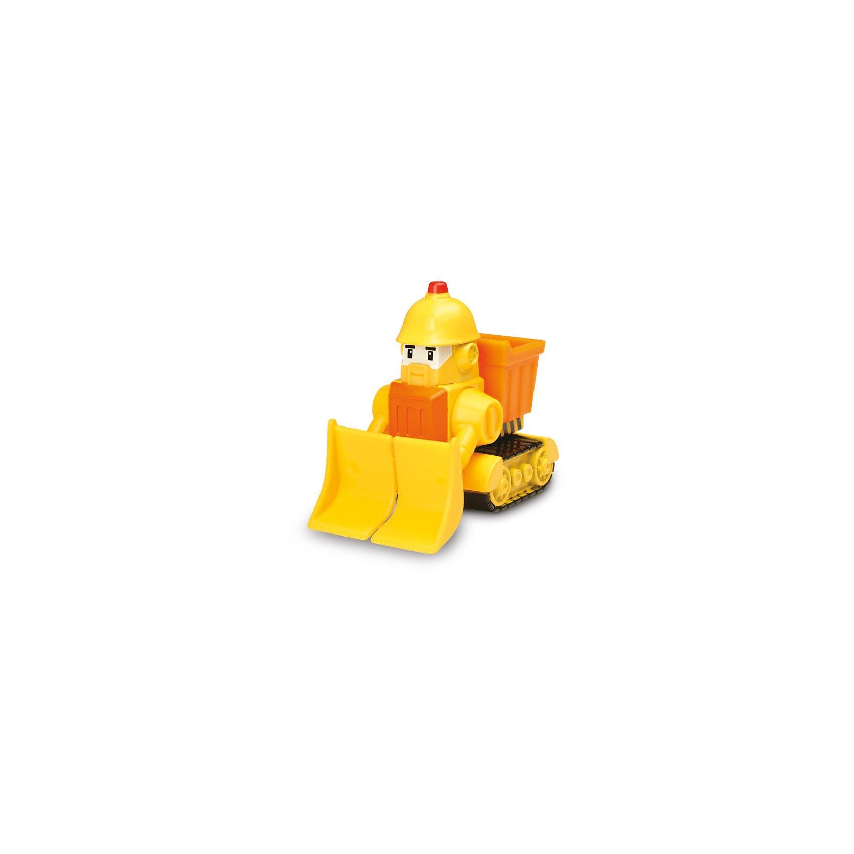 Silverlit Игрушка Металлическая машинка Брунер, 6см, Робокар Поли машинка брунер poli robocar