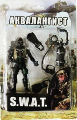 Play Line Фигурка Аквалангист. Отряд SWAT