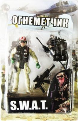 Play Line Фигурка Огнеметчик. Отряд Swat