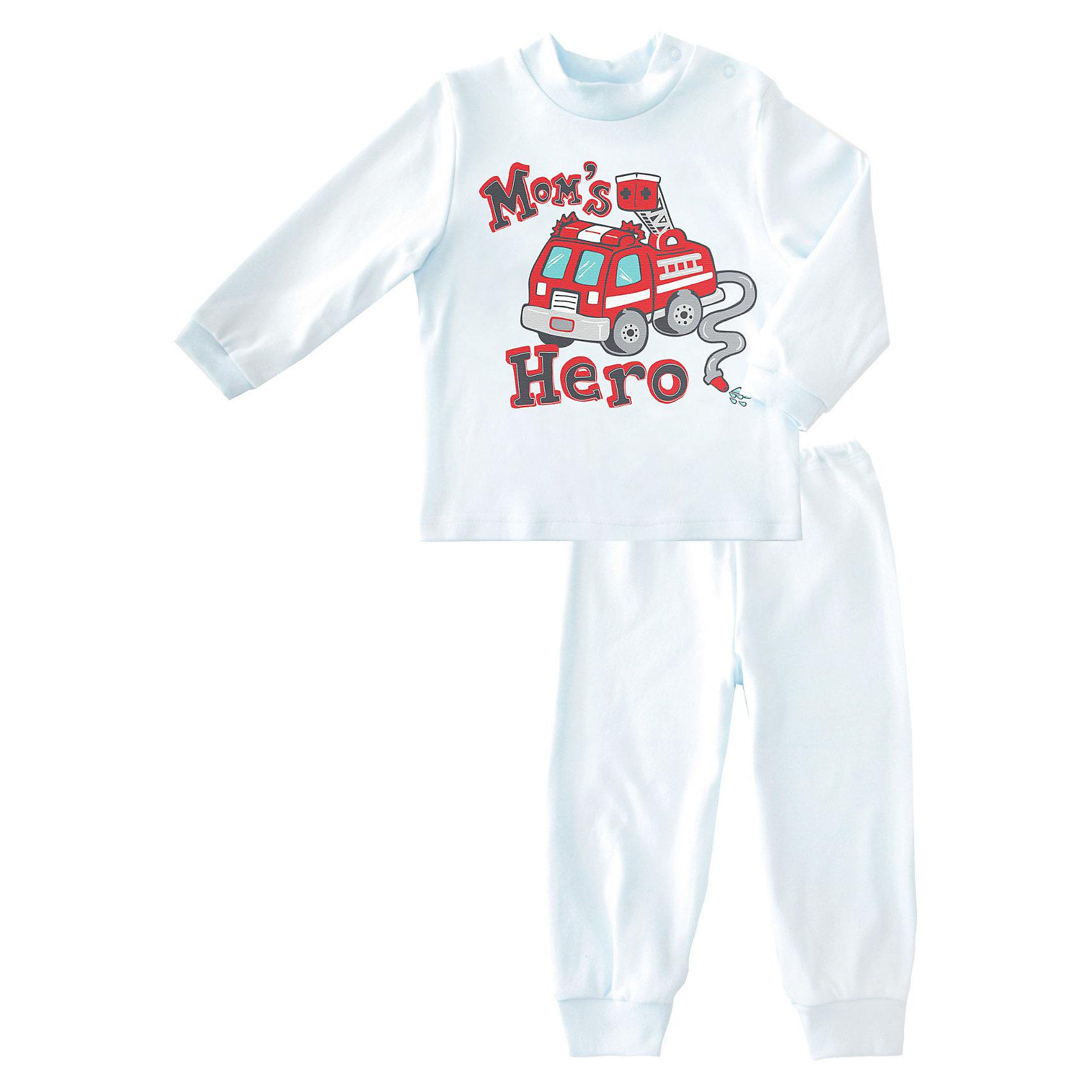 Пижама: футболка и брюки для мальчика от КотМарКот