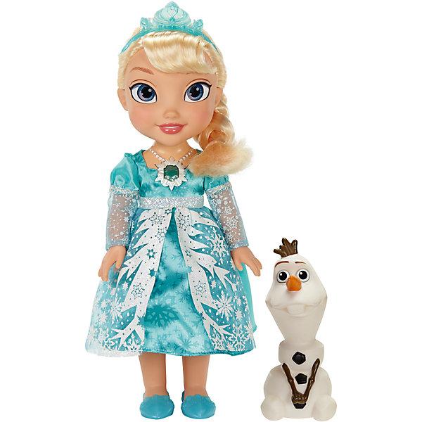 Кукла Эльза Холодное Сердце, Принцессы ДиснейИгрушки<br>Очаровашка Кукла Эльза Холодное Сердце, Disney Princess (Принцессы Диснея) - желанный подарок для каждой девочки. Если дотронуться до волшебного амулеты принцессы, она споет песенку из мультфильма «Холодное Сердце».<br>Куколка носит настоящий «зимний» наряд, на голове у нее красивая диадема. У Эльзы есть верный друг - забавный снеговик Олаф.<br><br>Дополнительная информация:<br><br>В комплекте: поющая кукла Эльза и снеговик Олаф<br>Кукла поет песню из мультфильма<br>Чтобы услышать песню, нажмите на амулет куколки<br>Высота куклы – 30 см.<br>Высота Олафа – около 15 см.<br>Батарейки: 3x AAA / LR03 / Micro (не входит в комплект).<br><br>Куклу Эльза Холодное Сердце, Disney Princess можно купить в нашем магазине.<br>Ширина мм: 386; Глубина мм: 314; Высота мм: 129; Вес г: 909; Возраст от месяцев: 36; Возраст до месяцев: 72; Пол: Женский; Возраст: Детский; SKU: 3741249;