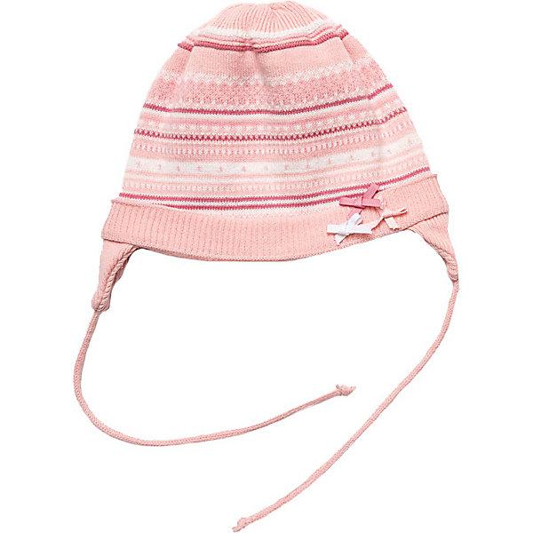 Шапка для девочки PlayTodayШапочки<br>Шапка для девочки от известной марки PlayToday<br>* теплая вязаная шапка в полоску с ушами на завязках<br>* двойной вязаный трикотаж<br>* модель декорирована бантиками<br>Состав:<br>верх: 80% хлопок, 20% акрил, подкладка: 80% хлопок, 20% акрил<br><br>Ширина мм: 89<br>Глубина мм: 117<br>Высота мм: 44<br>Вес г: 155<br>Цвет: розовый<br>Возраст от месяцев: 168<br>Возраст до месяцев: 192<br>Пол: Женский<br>Возраст: Детский<br>Размер: 40,44,42<br>SKU: 3742344