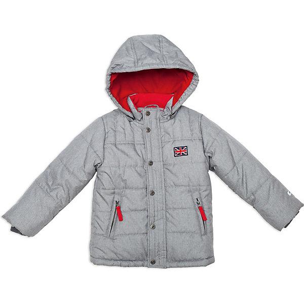 Куртка для мальчика PlayTodayДемисезонные куртки<br>Куртка для мальчика от известной марки PlayToday<br>* комфортная теплая куртка <br>* застежка - молния; ветрозащитная планка с застежкой на кнопки; защита подбородка<br>* высокий воротник-стойка <br>* съемный утепленный капюшон на молнии<br>* светоотражающий кант на спинке<br>* боковые карманы на молнии<br>* низ куртки утягивается стопперами<br>* нашивка на полочке<br>* манжеты дополнены трикотажной резинкой<br>* яркая подкладка из флиса<br>Состав:<br>верх: 100% полиэстер, подкладка: 100% полиэстер, наполнитель: 100% полиэстер<br><br>Ширина мм: 356<br>Глубина мм: 10<br>Высота мм: 245<br>Вес г: 519<br>Цвет: серый<br>Возраст от месяцев: 36<br>Возраст до месяцев: 48<br>Пол: Мужской<br>Возраст: Детский<br>Размер: 104,98,116,122,128,110<br>SKU: 3742786