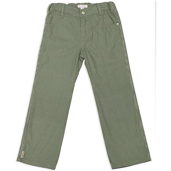 Брюки для мальчика PlayTodayБрюки<br>Брюки для мальчика от известной марки PlayToday<br>* удобные текстильные брюки<br>* пояс регулируется внутренней резинкой<br>* застежка - молния, пуговица<br>* модель дополнена функциональными карманами<br>* замечательный вариант как для детского сада, так и прогулок<br>Состав:<br>верх: 100% хлопок, подкладка: 100% хлопок<br><br>Ширина мм: 215<br>Глубина мм: 88<br>Высота мм: 191<br>Вес г: 336<br>Цвет: хаки<br>Возраст от месяцев: 36<br>Возраст до месяцев: 48<br>Пол: Мужской<br>Возраст: Детский<br>Размер: 104,98,116,110,122,128<br>SKU: 3743084