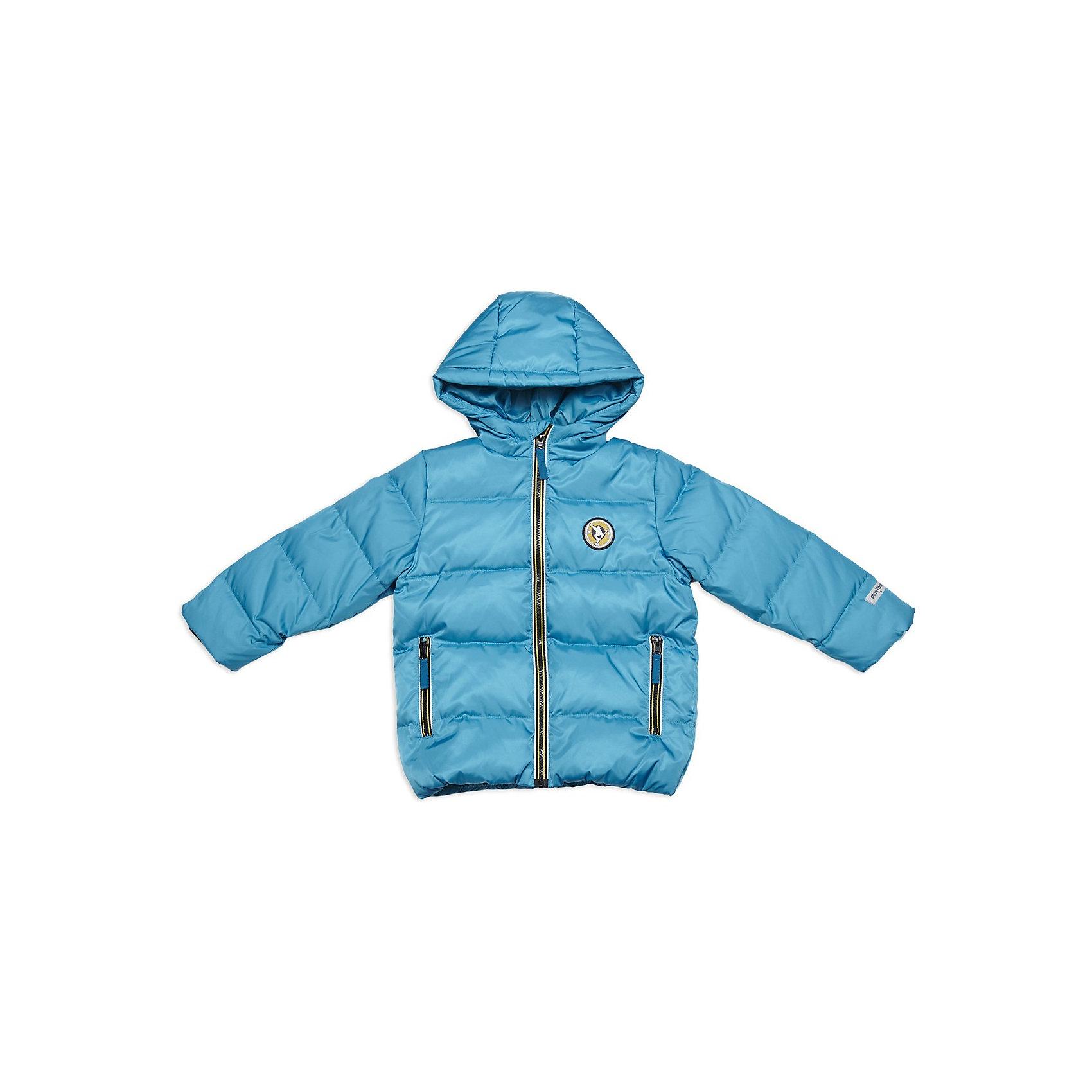 Куртка для мальчика PlayTodayВерхняя одежда<br>Куртка для мальчика от известной марки PlayToday<br>* практичный пуховик с капюшоном<br>* капюшон регулируется резинкой на стопперах<br>* застежка - молния; ветрозащитная планка с внутренней стороны куртки; защита подбородка<br>* по бокам два функциональных кармана на молнии <br>* куртка дополнена манжетами - трикотажная резинка<br>Состав:<br>верх: 100% полиэстер, подкладка: 100% полиэстер, наполнитель: 80% пух, 20% перо<br><br>Ширина мм: 356<br>Глубина мм: 10<br>Высота мм: 245<br>Вес г: 519<br>Цвет: синий<br>Возраст от месяцев: 72<br>Возраст до месяцев: 84<br>Пол: Мужской<br>Возраст: Детский<br>Размер: 122,104,98,128,110,116<br>SKU: 3743134