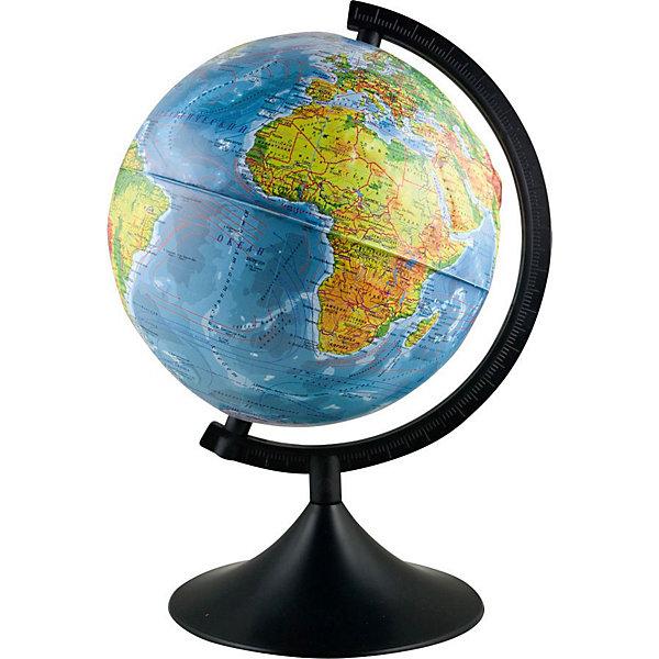 Глобус Земли Физический рельефный, TUKZARПоследняя цена<br>Глобус Земли Физический рельефный, TUKZAR (ТУКЗАР) станет незаменимым атрибутом обучения ребенка.<br>Существует много способов, как придать учебе игровой настрой, заинтересовать и в то же время дать ребенку необходимые знания. Давнее изобретение, никогда не теряющее свою актуальность и значение - это модель нашей Земли. С глобусами смогут работать даже самые маленькие, они дают полет фантазии и интеллектуально развивают ребенка. Настольный глобус на удобной подставке вращается вокруг собственной оси.<br><br>Дополнительная информация:<br><br>- Диаметр: 210 мм<br>- Масштаб: 1:60000000<br>- Покрытие: пластик<br>- Язык: русский<br><br>Глобус Земли Физический рельефный, TUKZAR (ТУКЗАР) можно купить в нашем интернет-магазине.<br><br>Ширина мм: 210<br>Глубина мм: 210<br>Высота мм: 210<br>Вес г: 500<br>Возраст от месяцев: 36<br>Возраст до месяцев: 144<br>Пол: Унисекс<br>Возраст: Детский<br>SKU: 3743889