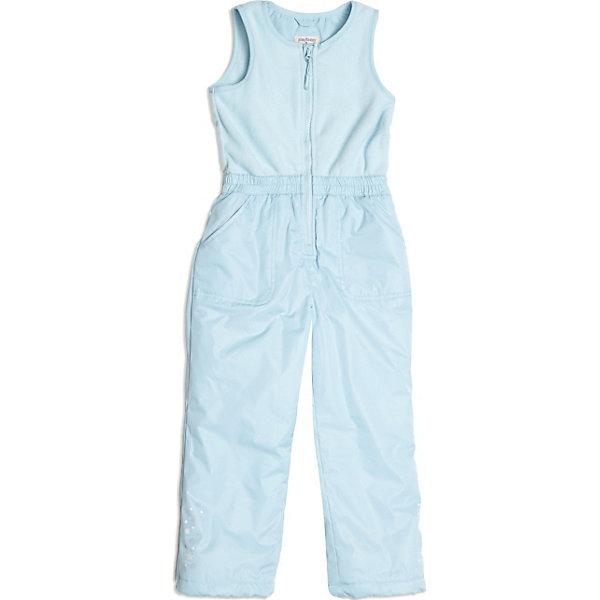 Полукомбинезон для девочки PlayTodayВерхняя одежда<br>Полукомбинезон для девочки от известной марки PlayToday<br>* прекрасный полукомбинезон из комбинированной ткани для активных прогулок в холодную погоду<br>* спереди застегивается на молнию; защита подбородка<br>* на талии эластичная резинка<br>* двойной низ брючин: внутренний слой по низу на резинке снегозащита - надевается на сапоги; внешний слой по низу утягивается стопперами<br>* по бокам брючин - светоотражающие канты<br>* ткань с водоотталкивающей пропиткой<br>* боковые карманы<br>* низ брючин декорирован принтом<br><br>Состав: верх: 100% полиэстер, подкладка: 100% полиэстер, наполнитель: 100% полиэстер<br>Утеплитель: 120 г<br><br>Полукомбинезон для девочки PlayToday (Плейтудей) можно купить в нашем магазине.<br><br>Ширина мм: 215<br>Глубина мм: 88<br>Высота мм: 191<br>Вес г: 336<br>Цвет: голубой<br>Возраст от месяцев: 72<br>Возраст до месяцев: 84<br>Пол: Женский<br>Возраст: Детский<br>Размер: 122,128,104,98,110,116<br>SKU: 3745264