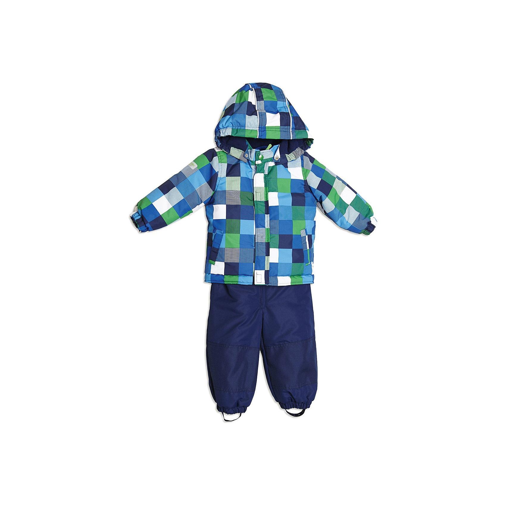 Комплект для мальчика: куртка и полукомбинезон PlayTodayКомплект для мальчика: куртка и полукомбинезон от известной марки PlayToday<br>* теплый и практичный комплект верхней одежды на каждый день для мальчика, состоящий из полукомбинезона и куртки<br>* яркая ткань с водоотталкивающей пропиткой<br>куртка:<br>* теплая куртка с уютным отстегивающимся капюшоном на кнопках<br>* с внутренней стороны капюшон выполнен из флиса<br>* манжеты на резинке<br>* функциональные карманы на липучке<br>* застежка - молния и ветрозащитная планка на липучках<br>* низ куртки регулируется стопперами<br>полукомбинезон:<br>* полукомбинезон на эластичных регулируемых по длине бретелях<br>* модель застегивается на молнию<br>* на талии эластичная вставка-резинка, которая регулируется поясом на липучках<br>* в области колен и заднее полотно брюк из более плотной усиленной ткани<br>* отстегивающаяся резинка на пуговицах, фиксирующая стопу ребенка<br>Состав:<br>верх: 100% полиэстер, подкладка: 100% хлопок, <br>наполнитель: 100% полиэстер (250 г)<br><br>Комплект для мальчика: куртка и полукомбинезон PlayToday (Плейтудей) можно купить в нашем магазине.<br><br>Ширина мм: 356<br>Глубина мм: 10<br>Высота мм: 245<br>Вес г: 519<br>Цвет: синий<br>Возраст от месяцев: 6<br>Возраст до месяцев: 9<br>Пол: Мужской<br>Возраст: Детский<br>Размер: 74,92,80,86<br>SKU: 3745568