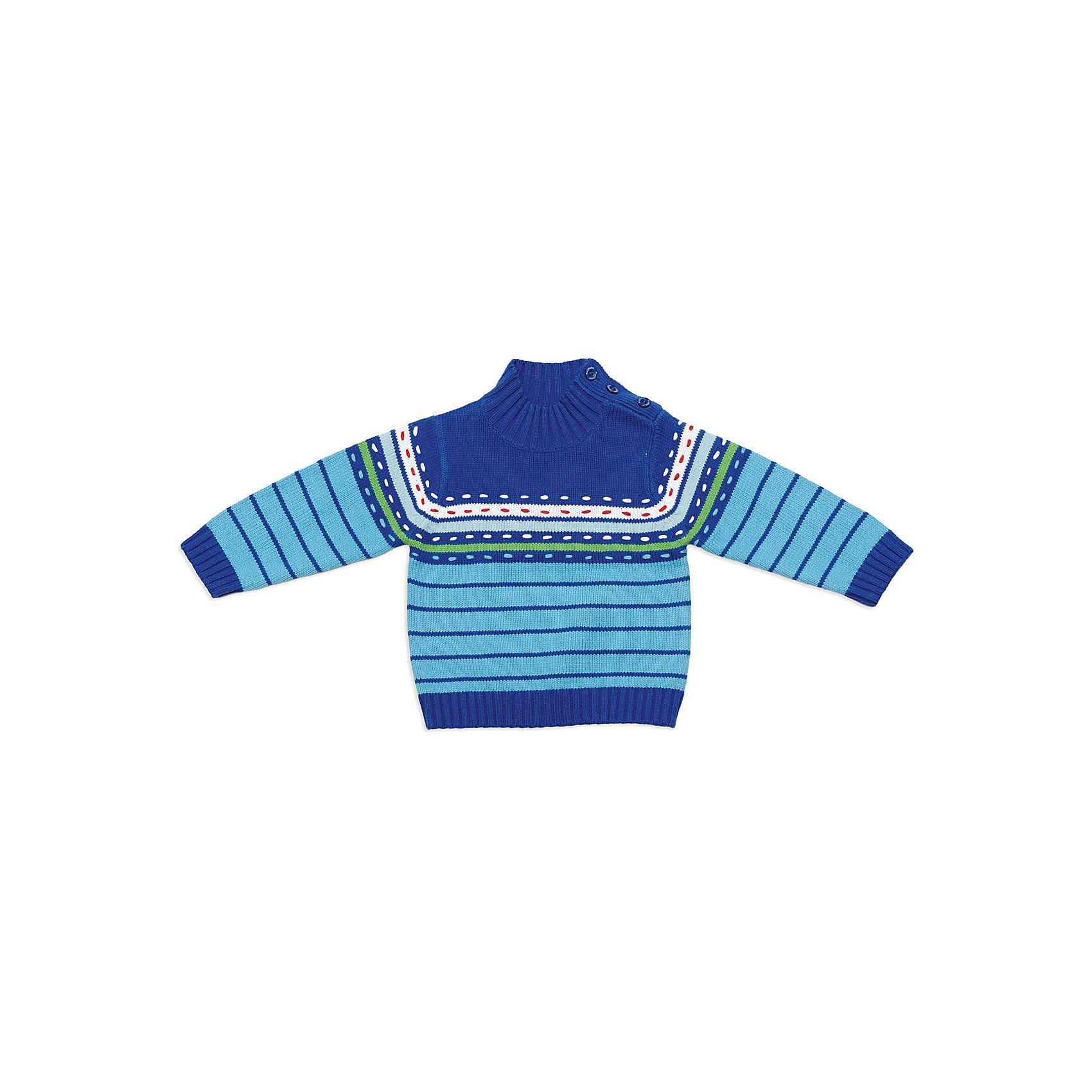 Свитер для мальчика PlayTodayСвитер для мальчика от известной марки PlayToday<br>* уютный вязаный свитер на каждый день для малыша<br>* округлый ворот с застежкой на пуговицы, расположенных на плече<br>* модель в красочную полоску, украшена декоративными стежками<br>* ворот, манжеты и низ - вязаная резинка<br>Состав:<br>60% хлопок, 40% акрил<br><br>Ширина мм: 190<br>Глубина мм: 74<br>Высота мм: 229<br>Вес г: 236<br>Цвет: синий<br>Возраст от месяцев: 18<br>Возраст до месяцев: 24<br>Пол: Мужской<br>Возраст: Детский<br>Размер: 92,86,74,80<br>SKU: 3745588