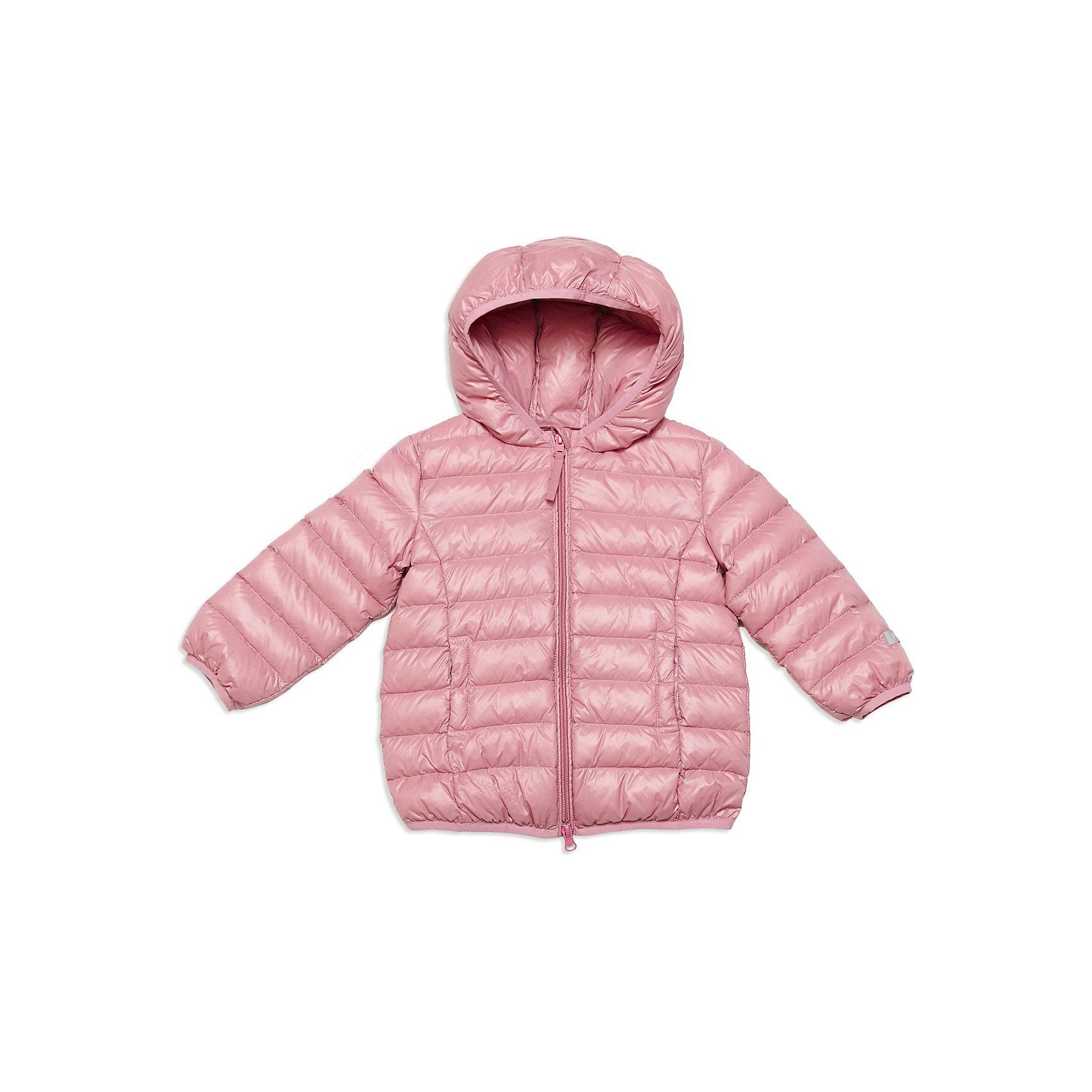 Куртка для девочки PlayTodayВерхняя одежда<br>Куртка для девочки от известной марки PlayToday<br>* теплая стеганая куртка нежно-розового цвета с капюшоном <br>* велюровая подкладка спереди и по спинке обеспечивает дополнительное тепло<br>* застежка - молния; ветрозащитная планка с внутренней стороны куртки; защита подбородка<br>* по бокам два функциональных кармана на липучке <br>* края изделия обработаны декоративной трикотажной тесьмой (рукава, капюшон, низ)<br>Состав:<br>верх: 100% нейлон, подкладка: 100% хлопок, наполнитель: 90% пух, 10% перо<br><br>Ширина мм: 356<br>Глубина мм: 10<br>Высота мм: 245<br>Вес г: 519<br>Цвет: розовый<br>Возраст от месяцев: 18<br>Возраст до месяцев: 24<br>Пол: Женский<br>Возраст: Детский<br>Размер: 92,86,80,74<br>SKU: 3745843