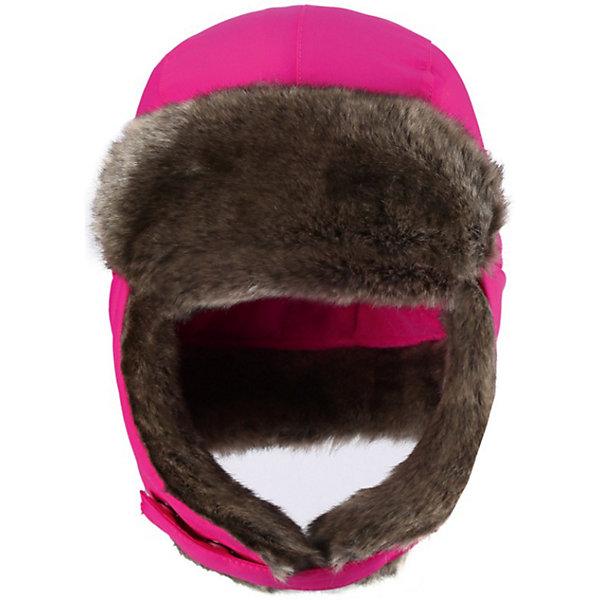 Шапка для девочки Reimatec® ReimaШапки и шарфы<br>Шапка от популярной финской марки Reima.<br>*Водонепроницаемая зимняя шапочка для малышей<br>*Все швы проклеены, водонепроницаемы<br>*Сплошная подкладка: короткий искусственный мех и полиэстеровый трикотаж<br>*Легкий утеплитель 60 г<br>*Светоотражающий значок в шве<br>Состав:<br>100% Полиамид, Полиуретан-покрытие<br><br>Ширина мм: 89<br>Глубина мм: 117<br>Высота мм: 44<br>Вес г: 155<br>Цвет: розовый<br>Возраст от месяцев: 6<br>Возраст до месяцев: 12<br>Пол: Женский<br>Возраст: Детский<br>Размер: 46,52,54,48,50<br>SKU: 3747076