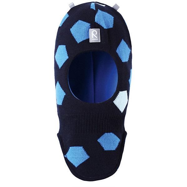 Купить Шапка-шлем для мальчика Reima, Reima, Шри-Ланка, темно-синий, 46, 48, 52, 50, Мужской