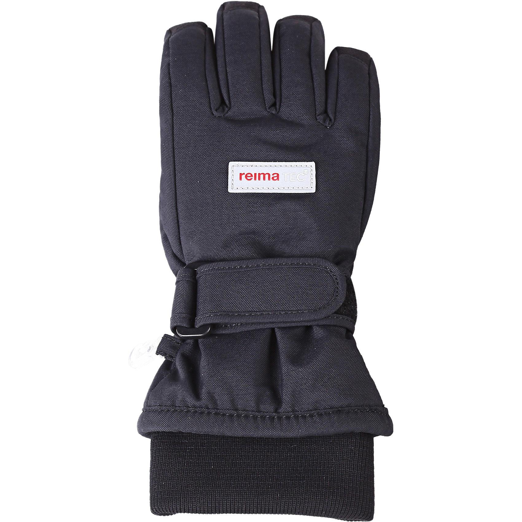 Перчатки для мальчика Reimatec® ReimaПерчатки и варежки<br>Перчатки от популярной финской марки Reima.<br>*Детские зимние перчатки Reimatec<br>*Водонепроницаемая вставка Hipora<br>*Теплая 100% Флисовая подкладка и 170 г утеплителя<br>*Дополнительные усилительные вставки на ладони, большом пальце и верхушке перчатки<br>*Быстро сохнут<br>Состав:<br>100% Полиамид, Полиуретан-покрытие<br><br>Ширина мм: 162<br>Глубина мм: 171<br>Высота мм: 55<br>Вес г: 119<br>Цвет: черный<br>Возраст от месяцев: 96<br>Возраст до месяцев: 120<br>Пол: Мужской<br>Возраст: Детский<br>Размер: 6,7,5,8,3,4<br>SKU: 3748416