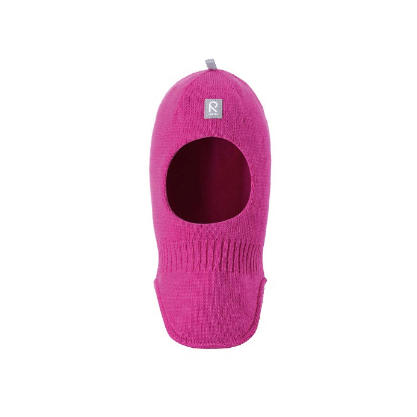 Шапка-шлем для девочки ReimaШапка-шлем от популярной финской марки Reima.<br>*Детская шапка-шлем, модель Original<br>Состав:<br>100% Шерсть; Подкладка 97% хлопок, 3% эластан<br><br>Ширина мм: 89<br>Глубина мм: 117<br>Высота мм: 44<br>Вес г: 155<br>Цвет: розовый<br>Возраст от месяцев: 12<br>Возраст до месяцев: 18<br>Пол: Женский<br>Возраст: Детский<br>Размер: 48,54,52,50,46<br>SKU: 3748467