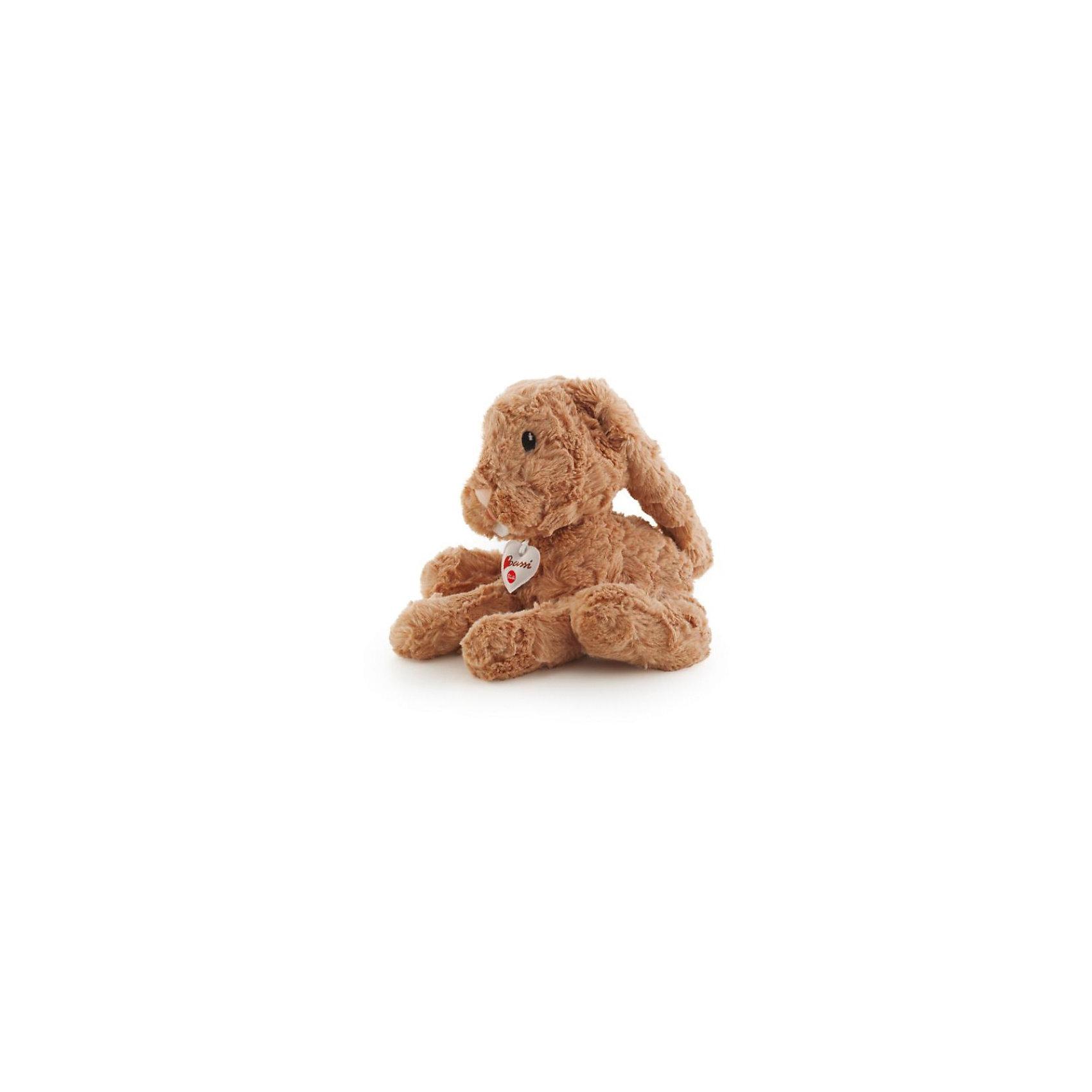 Бежевый зайчик, 38 см, TrudiЗайцы и кролики<br>Бежевый зайчик от итальянского бренда Trudi станет вашим домашним любимцем. Игрушка очень мягкая. Зайчик изготовлен из качественные экологичных и гипоаллергенных материалов, полностью безопасных для крохи. Этот милый зайчик займет достойное место у вас дома!<br><br>Дополнительная информация:<br>Материал: плюш, искусственный мех, наполнитель<br>Размер упаковки: 19х14х38 см<br>Размер игрушки: 38 см<br><br>Бежевого зайчика, Trudi вы можете приобрести в нашем интернет-магазине.<br><br>Ширина мм: 305<br>Глубина мм: 190<br>Высота мм: 132<br>Вес г: 289<br>Возраст от месяцев: 12<br>Возраст до месяцев: 60<br>Пол: Унисекс<br>Возраст: Детский<br>SKU: 3749412