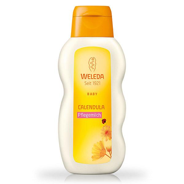 Молочко для тела с календулой для младенцев, 200 мл., WeledaДетское молочко для тела<br>Молочко для тела с календулой для младенцев, 200 мл., Weleda<br><br>Характеристики:<br><br>• Объем: 200 мл<br>• Содержит: календула, пчелиный воск<br>• Производитель: Weleda<br><br>Насыщенное молочко, содержит только тщательно подобранные и безопасные натуральные ингредиенты. Освежает, увлажняет, охлаждает и успокаивает чувствительную кожу ребенка. Эффективность подтверждена дерматологическими тестами. Содержит в составе пчелиный воск, что позволяет эффективно смягчать кожу и давать ей защиту. <br><br>Молочко для тела с календулой для младенцев, 200 мл., Weleda можно купить в нашем интернет-магазине.<br><br>Ширина мм: 171<br>Глубина мм: 73<br>Высота мм: 39<br>Вес г: 225<br>Возраст от месяцев: 0<br>Возраст до месяцев: 72<br>Пол: Унисекс<br>Возраст: Детский<br>SKU: 3756309