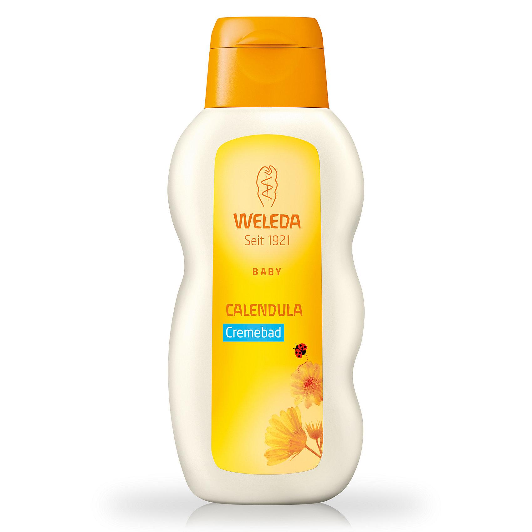 Молочко для купания с календулой для младенцев, 200 мл., WeledaМолочко для тела<br>Молочко для купания с календулой для младенцев, 200 мл., Weleda<br><br>Характеристики:<br><br>• Объем: 200 мл<br>• Рекомендации: подходит для детей с чувствительной кожей <br>• Способ применения: 1-2 столовые ложки добавить в ванночку и размешать<br>• Содержит: экстракт календулы, масла лаванды и лимона<br><br>Детское молочко с календулой поможет малышу настроиться на сон, успокоить нервную систему и очистить кожу малыша с максимальной заботой. Настой на травах повышает иммунитет, тем самым предотвращая частые простудные заболевания. Детское купание полностью безопасно для детей даже с гиперчувствительной кожей. А приятный запах будет ассоциацией веселья и радости от игр в воде.<br><br>Молочко для купания с календулой для младенцев, 200 мл., Weleda можно купить в нашем интернет-магазине.<br><br>Ширина мм: 162<br>Глубина мм: 71<br>Высота мм: 30<br>Вес г: 225<br>Возраст от месяцев: 0<br>Возраст до месяцев: 72<br>Пол: Унисекс<br>Возраст: Детский<br>SKU: 3756311