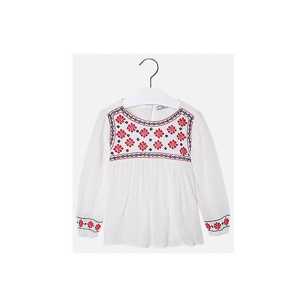 Рубашка для девочки MayoralБлузки и рубашки<br>Модная рубашка от популярного испанского бренда Mayoral (Майорал) для девочки. Изделие выполнено из натурального гипоаллергенного тонкого материала с мягкой подкладкой, очень приятной к телу, и обладает следующими особенностями:<br>- стильная клетка;<br>- воротник на стойке с фиксированными уголками;<br>- 1 нагрудный карман;<br>- традиционная застежка - пуговицы;<br>- закруглённый низ;<br>- тонкая подкладка в полоску.<br><br>Состав:<br>верх: 100% хлопок<br>подкладка: 100% хлопок<br><br>Рубашку Mayoral (Майорал) можно купить в нашем магазине<br>Ширина мм: 174; Глубина мм: 10; Высота мм: 169; Вес г: 157; Цвет: зеленый; Возраст от месяцев: 24; Возраст до месяцев: 36; Пол: Женский; Возраст: Детский; Размер: 98,92,104,134,128,122,116,110,128; SKU: 3757377;