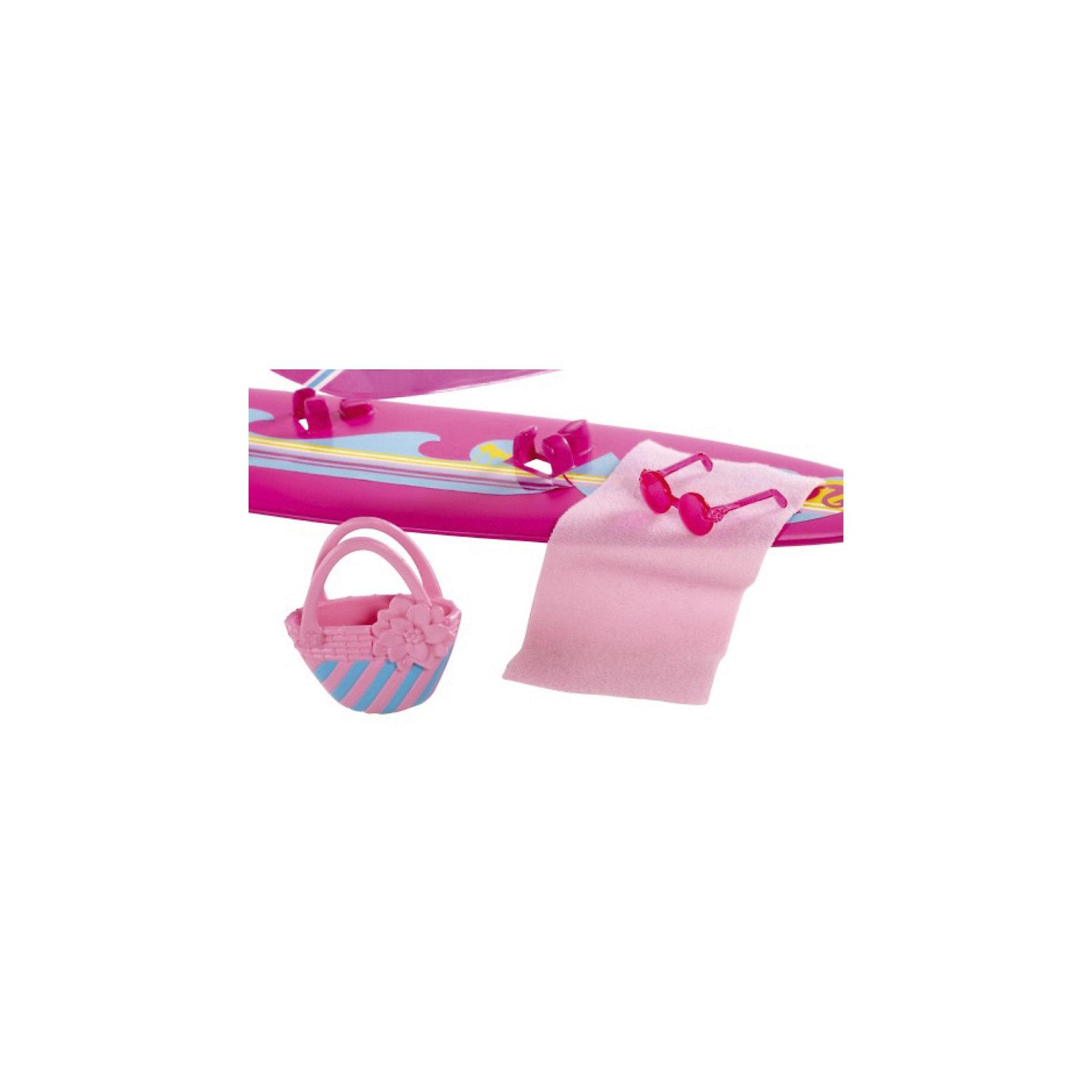 Mattel Аксессуары для прогулки: Виндсерф, Barbie mattel виндсерф barbie