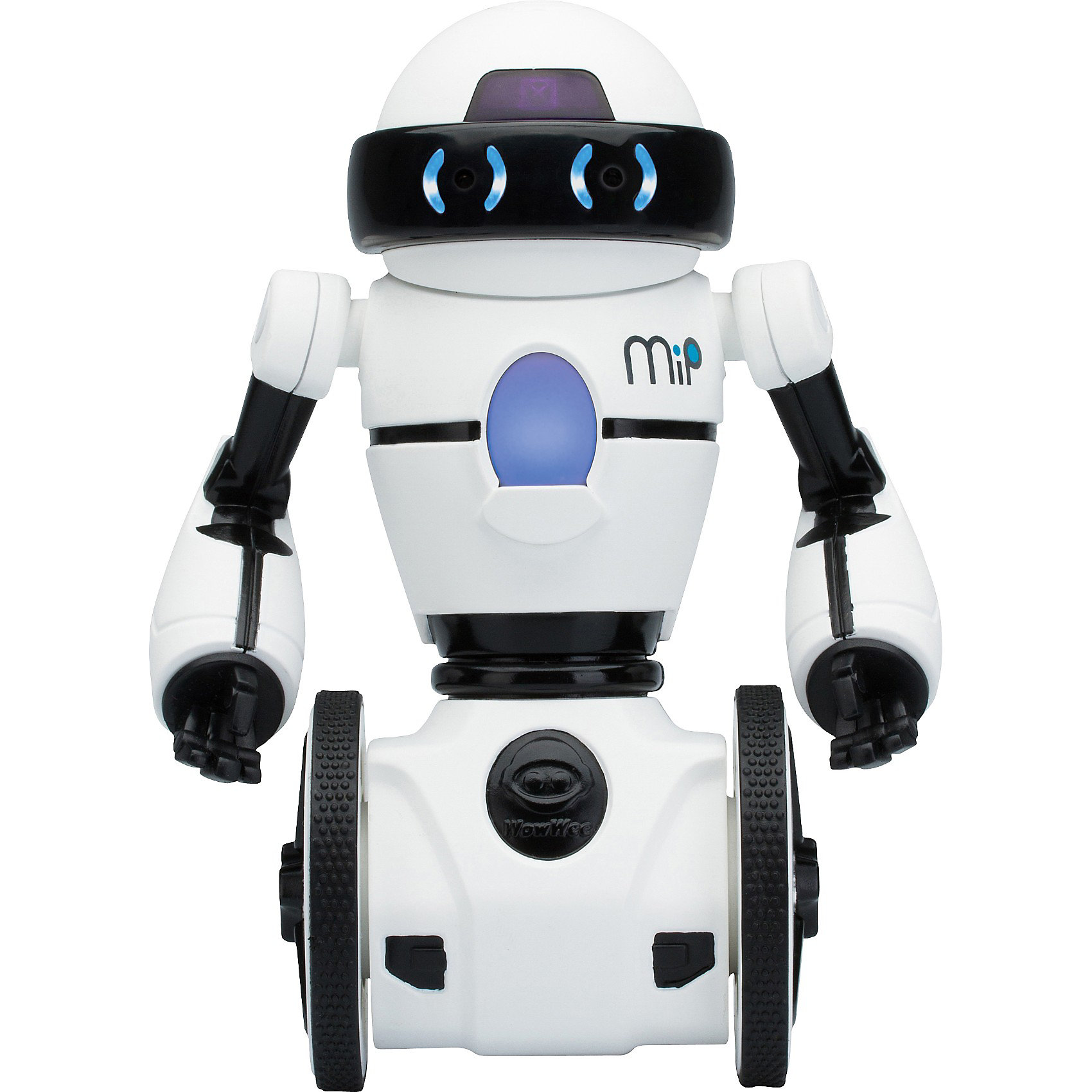 Робот MIP 0821, белый,  WowWeeМечта любого ребенка - настоящий робот, который может двигаться и выполнять команды. Робот MIP 0821, от WowWee - многофункциональный робот на самостабилизирующейся двухколесной платформе, выполненной по технологии обратного маятника. Ориентируясь на ваши движения и жесты, этот робот будет виртуозно переносить на подносе различные вещи и издавать различные звуки. Игрушка управляется жестами или с помощью смартфона. Робот ориентируется в пространстве, реагирует на препятствия, танцует под музыку. С помощью приложения вы сможете менять настроение робота (весёлый, сонный, злой), можете попробовать сыграть в интерактивные игры с несколькими MIP и поменять самые разные настройки, нарисуйте пальцем на экране вашего смартфона путь робота, и он его повторит.<br><br>Дополнительная информация:<br><br>- Материал: пластик, металл.<br>- Высота: 20 см.<br>- Цвет: белый.<br>- Робот на самостабилизирующейся двухколесной платформе.<br>- Умеет танцевать, переносить вещи на подносе.<br>- Реагирует на препятствия.<br>- Изучает пространство.<br>- Пытается выбраться из замкнутого пространства (режим клетка).<br>- Управление с мобильного устройства (iOS или Android)<br>- Элемент питания: для робота - 4 батарейки ААА (не входят в комплект).<br>- Звуковые эффекты.<br>- Комплектация: робот,  инструкция.<br><br>Робота MIP 0821, белого,  WowWee можно купить в нашем магазине.<br><br>Ширина мм: 280<br>Глубина мм: 182<br>Высота мм: 137<br>Вес г: 835<br>Возраст от месяцев: 96<br>Возраст до месяцев: 168<br>Пол: Мужской<br>Возраст: Детский<br>SKU: 3763611