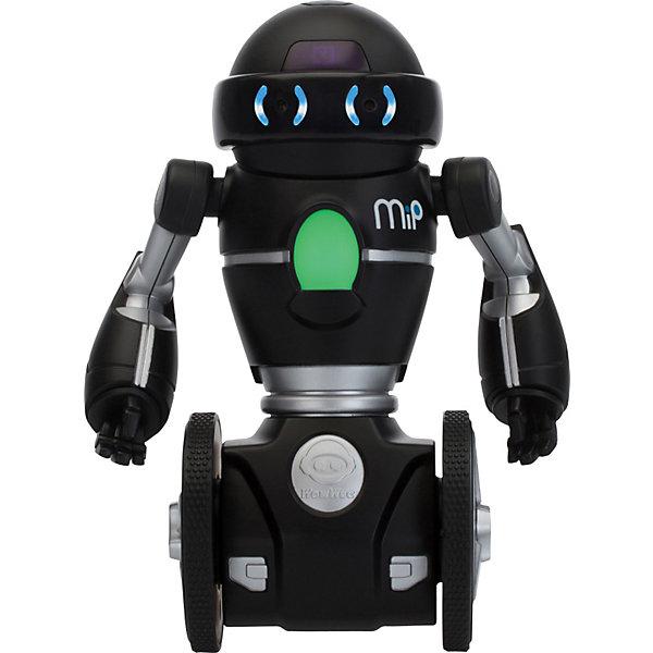 Робот MIP 0825, черный,  WowWeeРоботы-игрушки<br>Мечта любого ребенка - настоящий робот, который может двигаться и выполнять команды. Робот MIP 0821, от WowWee - многофункциональный робот на самостабилизирующейся двухколесной платформе, выполненной по технологии обратного маятника. Ориентируясь на ваши движения и жесты, этот робот будет виртуозно переносить на подносе различные вещи и издавать различные звуки. Игрушка управляется жестами или с помощью смартфона. Робот ориентируется в пространстве, реагирует на препятствия, танцует под музыку. С помощью приложения вы сможете менять настроение робота (весёлый, сонный, злой), можете попробовать сыграть в интерактивные игры с несколькими MIP и поменять самые разные настройки, нарисуйте пальцем на экране вашего смартфона путь робота, а он его повторит.<br><br>Дополнительная информация:<br><br>- Материал: пластик, металл.<br>- Высота: 20 см.<br>- Цвет: черный.<br>- Робот на самостабилизирующейся двухколесной платформе.<br>- Умеет танцевать, переносить вещи на подносе.<br>- Реагирует на препятствия.<br>- Изучает пространство.<br>- Пытается выбраться из замкнутого пространства (режим клетка).<br>- Управление с мобильного устройства (iOS или Android)<br>- Элемент питания: для робота - 4 батарейки ААА (не входят в комплект).<br>- Звуковые эффекты.<br>- Комплектация: робот,  инструкция.<br><br>Робота MIP 0825, черного,  WowWee можно купить в нашем магазине.<br><br>Ширина мм: 261<br>Глубина мм: 167<br>Высота мм: 134<br>Вес г: 813<br>Возраст от месяцев: 96<br>Возраст до месяцев: 168<br>Пол: Мужской<br>Возраст: Детский<br>SKU: 3763612