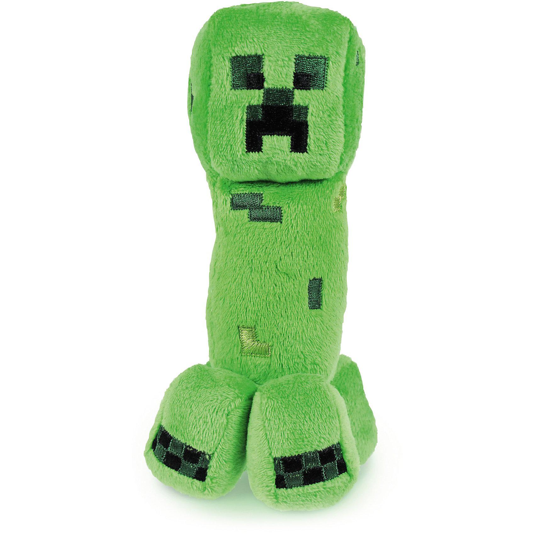 Игрушка Крипер, 18см, MinecraftЛюбимые герои<br>Мягкая игрушка Крипер, 18 см, Minecraft (Майнкрафт) – это отличный подарок для поклонников вселенной Minecraft.<br>Мягкая игрушка Крипер Minecraft (Майнкрафт) из самой известной инди-игры - Minecraft! Компьютерная игра Minecraft - одна из самых популярных игр во всем мире. В этой игре дети и взрослые со всего мира выстраивают целые вселенные из кубических блоков. Если Ваш ребенок – почитатель игры Minecraft, то эта мягкая игрушка-моб ему, несомненно, понравится. Игрушка сделана в виде крипера, неофициального символа Minecraft и одной из главных причин смертей игроков. Подарите своему ребенку замечательную качественную игрушку в виде опасного героя Minecraft – практически бесшумного моба-камикадзе Крипера. Игрушка изготовлена из высококачественного текстиля с гипоаллергенным наполнителем.<br><br>Дополнительная информация:<br><br>- Размер игрушки: 18 см.<br>- Материал: текстиль, плюш<br><br>Мягкая игрушка Крипер, 18 см, Minecraft (Майнкрафт) - собери всех участников игры и создай свой мир Minecraft.<br><br>Мягкую игрушку Крипер, 18 см, Minecraft (Майнкрафт) можно купить в нашем интернет-магазине.<br><br>Ширина мм: 185<br>Глубина мм: 86<br>Высота мм: 68<br>Вес г: 46<br>Возраст от месяцев: 36<br>Возраст до месяцев: 96<br>Пол: Мужской<br>Возраст: Детский<br>SKU: 3763631