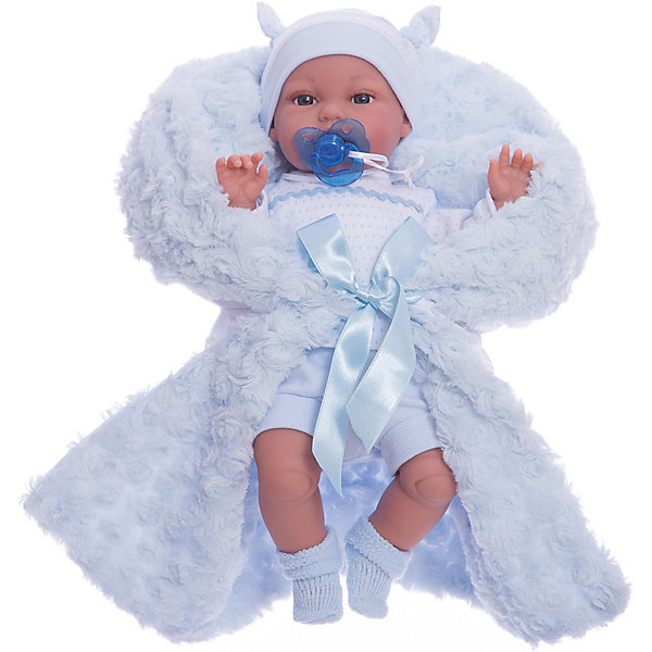 Кукла Бимбо в голубом,  37 см, Munecas Antonio Juan