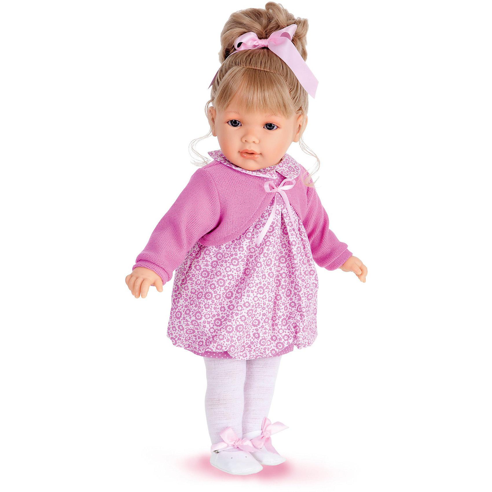 Кукла Корнелия в розовом,  55 см, Munecas Antonio Juan