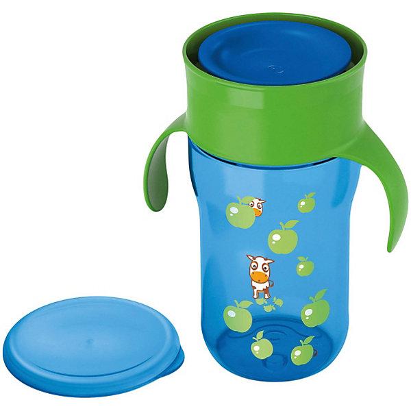 Поильник-чашка 340 мл., AVENT, голубойПоильники<br>Поильник-чашка Philips-Avent (Авент) идеально подойдет для малышей, которые учатся пить из чашки и уже могут самостоятельно держать кружку в руках. Из поильника можно пить как из стандартной взрослой чашки по всему краю, без носика и трубочки. Чашка оснащена специальным клапаном, который открывается при прикосновении губ ребенка, обеспечивает быстрый поток жидкости и предотвращает протекание и проливание. Ребенку приходится прилагать меньше усилий, что делает кормление более комфортным.<br><br>Обучающие ручки приучают малыша держать чашку и пить без посторонней помощи. Защитная гигиеническая крышка предохранит чашку от загрязнений и сохранит в чистоте во время прогулок и дома. Чашка имеет яркий, привлекательный для малыша дизайн с забавными рисунками. Можно стерилизовать и мыть в посудомоечной машине. <br><br>Дополнительная информация:<br><br>- Цвет: голубой.<br>- Материал: пластик.<br>- Объем: 340 мл.<br>- Возраст: от 18 мес.<br>- Размер: 9 х 11,6 х 19 см.<br>- Вес: 180 гр.<br><br>Чашку, Avent (Авент), 340 мл., голубую можно купить в нашем магазине.<br>Ширина мм: 90; Глубина мм: 116; Высота мм: 190; Вес г: 161; Цвет: голубой; Возраст от месяцев: 18; Возраст до месяцев: 36; Пол: Мужской; Возраст: Детский; SKU: 3770430;