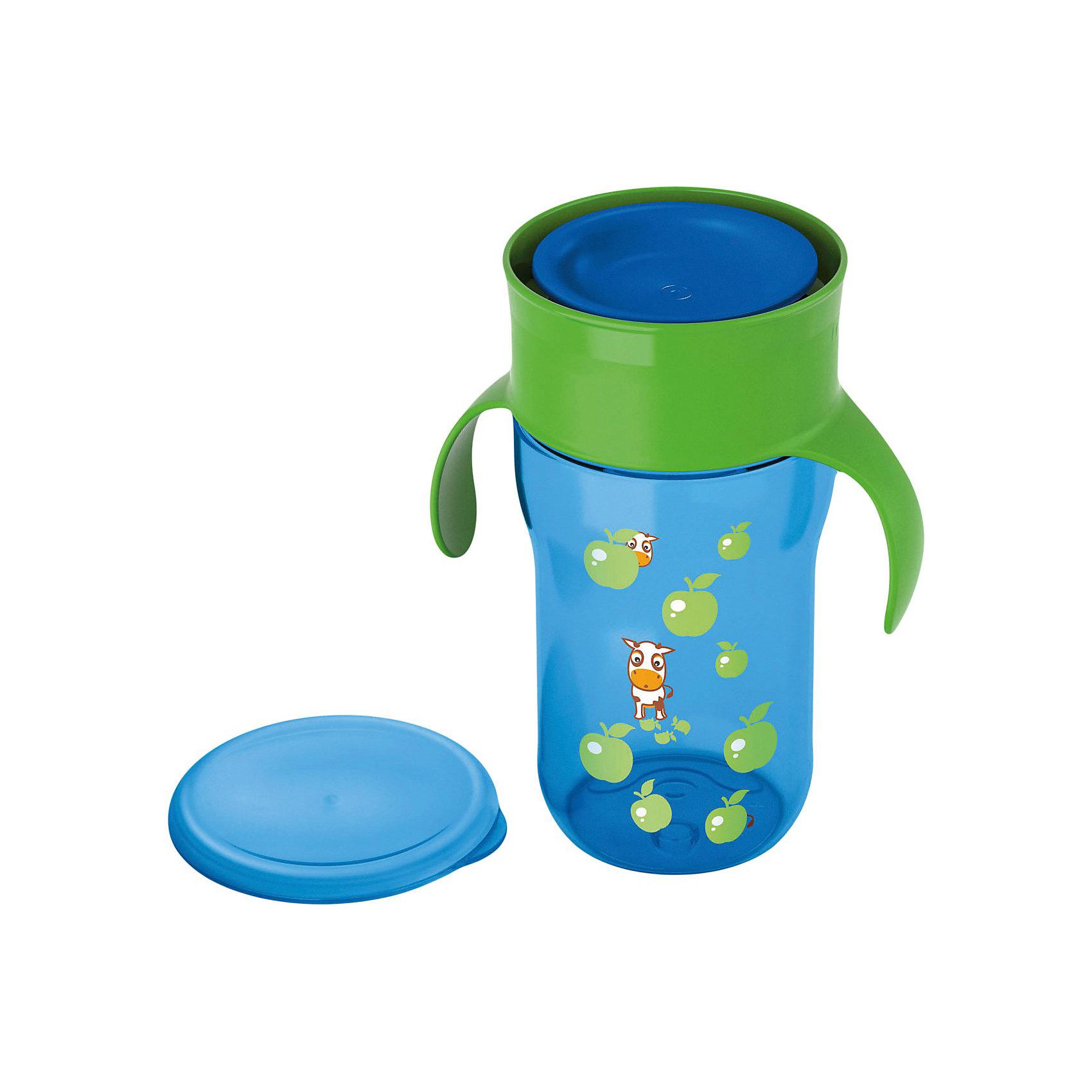 Поильник-чашка 340 мл., AVENT, голубой от myToys