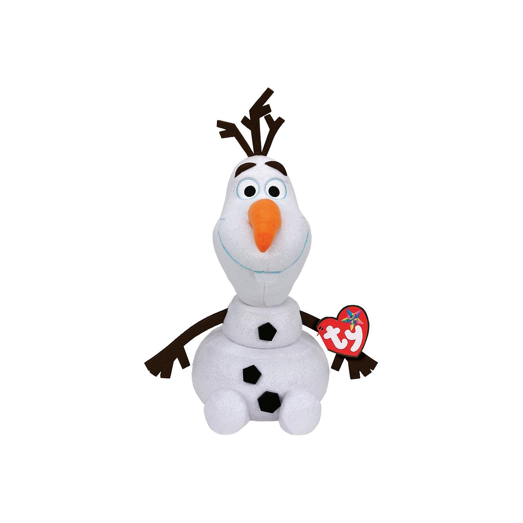 Мягкая игрушка Cнеговик Олаф, 25 см, звук, Холодное сердце, Disney Beanie Babies, TyDisney Beanie Babies. Cнеговик Olaf 25 см, звуковые эффекты<br><br>Ширина мм: 230<br>Глубина мм: 177<br>Высота мм: 129<br>Вес г: 189<br>Возраст от месяцев: 12<br>Возраст до месяцев: 72<br>Пол: Унисекс<br>Возраст: Детский<br>SKU: 3770792
