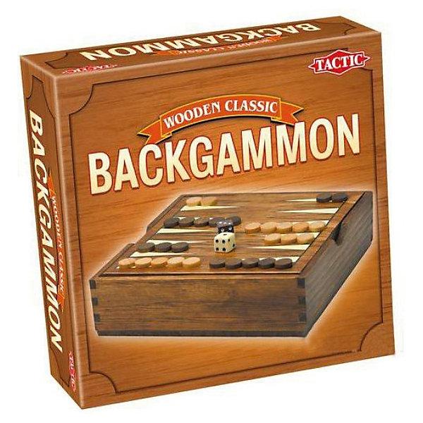Мини Нарды, Tactic GamesИгры в дорогу<br>Мини Нарды, Tactic Games –  это компактная версия популярной логической игры.<br>Правила игры остаются неизменными – бросайте кости и передвигайте свои фишки на другую сторону доски, занимая свободное пространство. Кто из соперников сделает это первым, признается победителем. <br>Доской для игры является деревянный короб, который очень удобен для хранения шашек, что очень практично, особенно в путешествии.<br><br>Дополнительная информация:<br><br>- Нарды рассчитаны на двух игроков старше 7 лет<br>- В комплекте: игральная доска, 30 шашек (15 белого цвета и 15 черного), 2 игральных кубика (кости)<br>- Размер упаковки: 16,8 х 16,8 х 5,2 см.<br>- Вес: 399 гр.<br><br>Игру Мини Нарды, Tactic Games можно купить в нашем интернет-магазине.<br><br>Ширина мм: 62<br>Глубина мм: 168<br>Высота мм: 168<br>Вес г: 399<br>Возраст от месяцев: 84<br>Возраст до месяцев: 1188<br>Пол: Унисекс<br>Возраст: Детский<br>SKU: 3770921