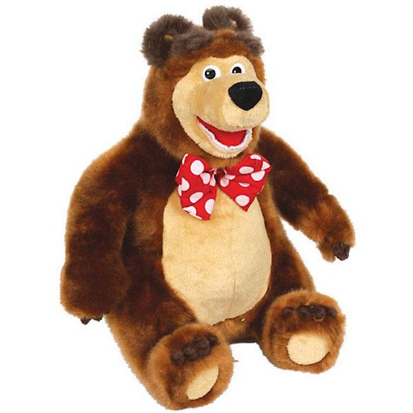 Мягкая игрушка Мишка, Маша и Медведь, МУЛЬТИ-ПУЛЬТИМягкие игрушки из мультфильмов<br>Забавный Мишка из популярного мультфильма Маша и Медведь умеет двигаться и рассказывает 3 сказки: Маша и Медведь, Вершки и корешки, Три медведя. Чтобы Мишка ожил нужно лишь нажать ему на левую лапку, на правой задней лапке имеется регулятор громкости.<br><br>Дополнительная информация:<br><br>- Материал: искусственный мех, текстиль, набивка: полиэфирное волокно.<br>- Требуются батарейки: 3 х АА. (входят в комплект) <br>- Размер игрушки: 17 ? 23,5 ? 14 см.<br>- Размер упаковки: 17,5 ? 33 ? 18 см.<br>- Вес: 1,170 кг.<br><br>Мягкую игрушку Мишка, Маша и Медведь, Мульти-Пульти можно купить в нашем интернет-магазине.<br>Ширина мм: 180; Глубина мм: 170; Высота мм: 320; Вес г: 1170; Возраст от месяцев: 6; Возраст до месяцев: 60; Пол: Унисекс; Возраст: Детский; SKU: 3772334;