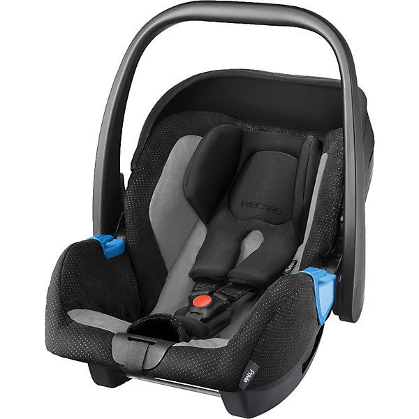 Автокресло RECARO Privia, 0-13 кг, graphiteГруппа 0+  (до 13 кг)<br>Характеристики:<br><br>• группа автокресла: 0+;<br>• вес ребенка: до 13 кг;<br>• возраст ребенка: от рождения до 15 месяцев;<br>• способ установки: лицом против хода движения автомобиля;<br>• способ крепления: штатными ремнями безопасности или на базу RecaroFix (база приобретается отдельно);<br>• 3-х точечные ремни безопасности, регулируются по длине;<br>• вкладыш для новорожденного;<br>• регулируемый капюшон;<br>• пластиковая ручка для переноски;<br>• съемные чехлы автокресла, стирка при температуре 30 градусов;<br>• материал: пластик, полиэстер;<br>• размеры автокресла: 65х44х57 см;<br>• вес: 3,7 кг.<br><br>Автокресло Privia – полноценная автолюлька для путешествий с новорожденным. Ручка для переноски дает возможность извлечь автокресло из салона автомобиля даже со спящим малышом, не потревожив его сон. Автокресло устанавливается на шасси различных колясок с помощью адаптеров.<br><br>Автокресло Privia 0-13 кг., Recaro, graphite можно купить в нашем интернет-магазине.<br>Ширина мм: 745; Глубина мм: 458; Высота мм: 421; Вес г: 6475; Цвет: черный/серый; Возраст от месяцев: 0; Возраст до месяцев: 15; Пол: Унисекс; Возраст: Детский; SKU: 3773467;