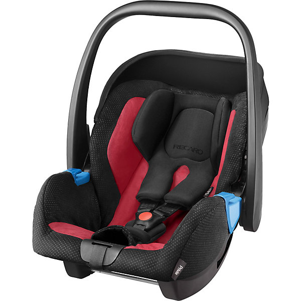 Автокресло RECARO Privia, 0-13 кг, rubyГруппа 0+  (до 13 кг)<br>Характеристики:<br><br>• группа автокресла: 0+;<br>• вес ребенка: до 13 кг;<br>• возраст ребенка: от рождения до 15 месяцев;<br>• способ установки: лицом против хода движения автомобиля;<br>• способ крепления: штатными ремнями безопасности или на базу RecaroFix (база приобретается отдельно);<br>• 3-х точечные ремни безопасности, регулируются по длине;<br>• вкладыш для новорожденного;<br>• регулируемый капюшон;<br>• пластиковая ручка для переноски;<br>• съемные чехлы автокресла, стирка при температуре 30 градусов;<br>• материал: пластик, полиэстер;<br>• размеры автокресла: 65х44х57 см;<br>• вес: 3,7 кг.<br><br>Автокресло Privia – полноценная автолюлька для путешествий с новорожденным. Ручка для переноски дает возможность извлечь автокресло из салона автомобиля даже со спящим малышом, не потревожив его сон. Автокресло устанавливается на шасси различных колясок с помощью адаптеров.<br><br>Автокресло Privia 0-13 кг., Recaro, ruby можно купить в нашем интернет-магазине.<br><br>Ширина мм: 741<br>Глубина мм: 474<br>Высота мм: 419<br>Вес г: 6397<br>Цвет: черный/розовый<br>Возраст от месяцев: 0<br>Возраст до месяцев: 15<br>Пол: Унисекс<br>Возраст: Детский<br>SKU: 3773469