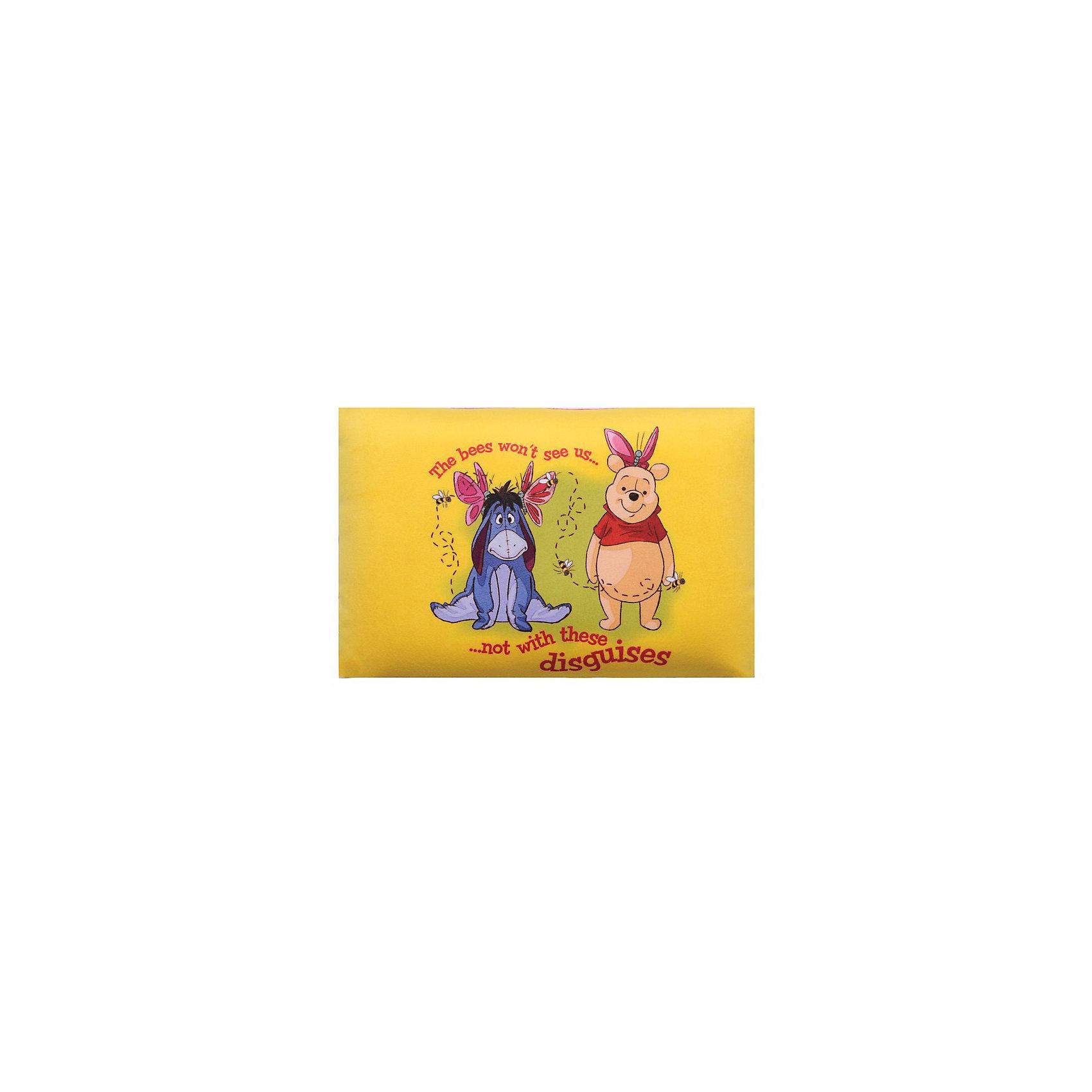 Подушка-антистресс трансформер Винни Пух В33, арт. 52719-1, Small Toys, желтый