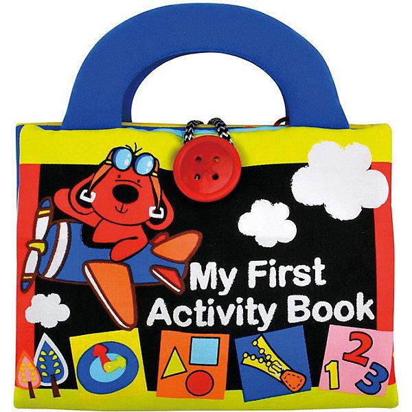 Игрушка Моя первая книжка-2, Ks KidsРазвивающие игрушки<br>Книжка-игрушка Моя первая книжка 2 Ks Kids (Кс Кидс) увлекательный и очень удобный для малыша инструмент развития. Мягкая книжка с удобными ручками абсолютно безопасна для крохи. Книжка наполнена любимыми детскими развлечениями: шнуровками, шуршалками, креплениями. С помощью книжки-игрушки ребенок научится узнавать объекты, различать формы, определять цвета. Странички из разнообразных материалов будут способствовать развитию тактильных и моторных навыков. Яркий дизайн непременно привлечет внимание крохи и будет способствовать развитию зрения.<br><br>Дополнительная информация:<br><br>- Мягкая развивающая книжка с ручками;<br>- Разнофактурные элементы;<br>- Шнуровки, крепления, подвижные элементы;<br>- Развивает тактильное восприятие, координацию;<br>- Яркий дизайн стимулирует развитие зрения;<br>- Материал: ткань (65% полиэстер, 35% хлопок);<br>- Размер: 21,5 х 25 х 5 см;<br>- Вес: 290 г<br><br>Книжку-игрушку Моя первая книжка 2, Ks Kids (Кс Кидс) можно купить в нашем интернет-магазине.<br>Ширина мм: 230; Глубина мм: 280; Высота мм: 60; Вес г: 290; Возраст от месяцев: 12; Возраст до месяцев: 36; Пол: Унисекс; Возраст: Детский; SKU: 3776150;