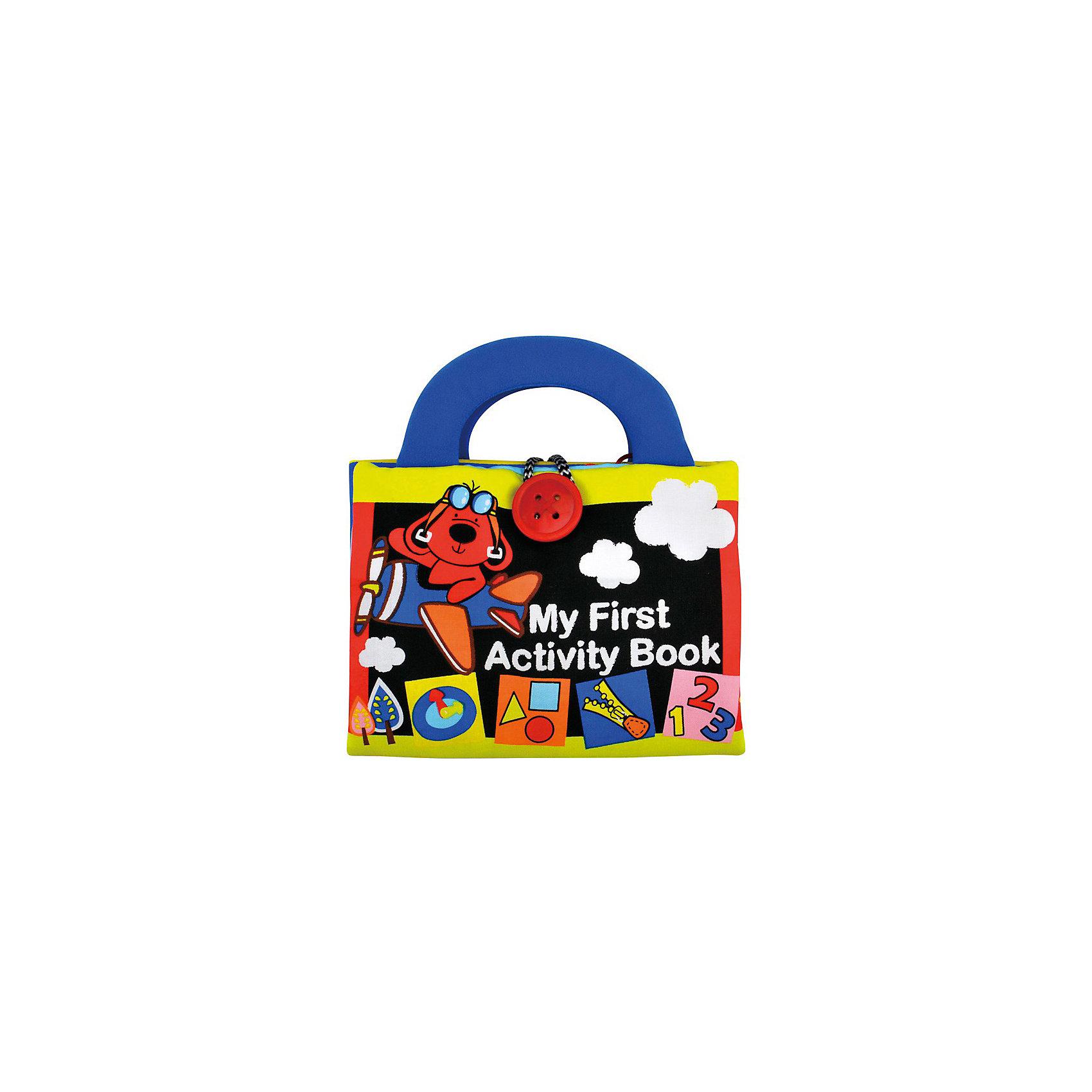 Игрушка Моя первая книжка-2, Ks KidsКнижки-игрушки<br>Книжка-игрушка Моя первая книжка 2 Ks Kids (Кс Кидс) увлекательный и очень удобный для малыша инструмент развития. Мягкая книжка с удобными ручками абсолютно безопасна для крохи. Книжка наполнена любимыми детскими развлечениями: шнуровками, шуршалками, креплениями. С помощью книжки-игрушки ребенок научится узнавать объекты, различать формы, определять цвета. Странички из разнообразных материалов будут способствовать развитию тактильных и моторных навыков. Яркий дизайн непременно привлечет внимание крохи и будет способствовать развитию зрения.<br><br>Дополнительная информация:<br><br>- Мягкая развивающая книжка с ручками;<br>- Разнофактурные элементы;<br>- Шнуровки, крепления, подвижные элементы;<br>- Развивает тактильное восприятие, координацию;<br>- Яркий дизайн стимулирует развитие зрения;<br>- Материал: ткань (65% полиэстер, 35% хлопок);<br>- Размер: 21,5 х 25 х 5 см;<br>- Вес: 290 г<br><br>Книжку-игрушку Моя первая книжка 2, Ks Kids (Кс Кидс) можно купить в нашем интернет-магазине.<br><br>Ширина мм: 230<br>Глубина мм: 280<br>Высота мм: 60<br>Вес г: 290<br>Возраст от месяцев: 12<br>Возраст до месяцев: 36<br>Пол: Унисекс<br>Возраст: Детский<br>SKU: 3776150