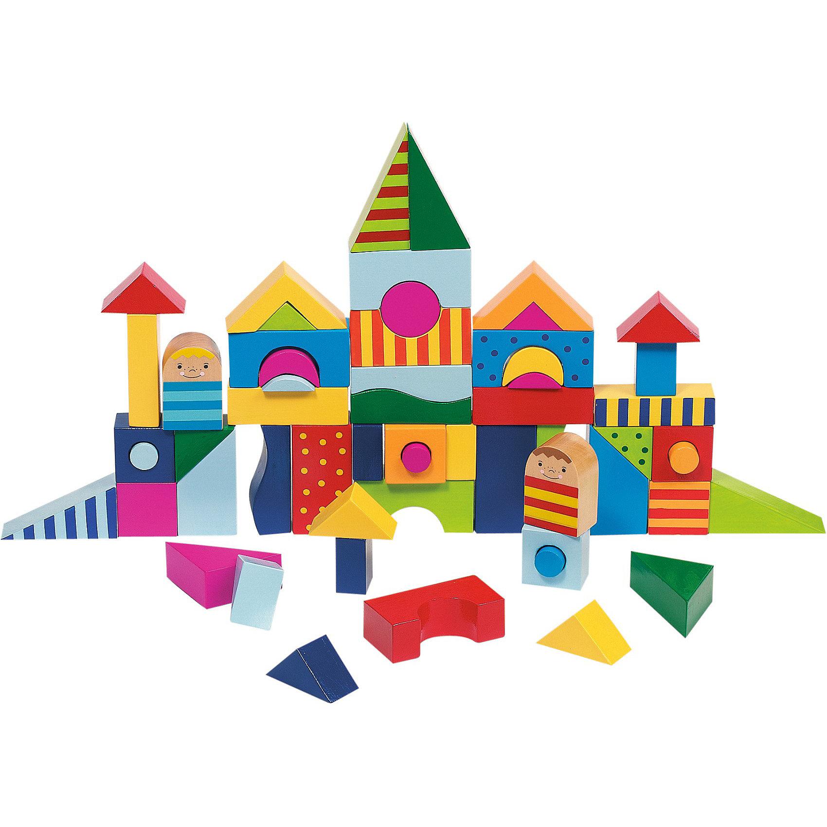 Пазл-конструктор Замок, gokiПазл-конструктор Замок, goki (гоки) – это находка, для тех, кто хочет развивать у ребенка фантазию и воображение.<br>Набор Замок от goki (гоки) - это пазл и конструктор в одной игрушке. В набор входит 57 разноцветных элементов: треугольники, квадраты, круги, арки и два человечка. Ваш ребенок сможет в полной мере проявить свои архитекторские способности построить из деталей набора замки, дома и другие фигуры, и играть с ними в сюжетные игры. А можно собрать плоский пазл, разместив в нужном порядке элементы в деревянную рамку – поддон. Игры с пазлом - конструктором поможет малышу не только развить глазомер и координацию, но и выучить все цвета, формы и научит их совмещать. Набор абсолютно безопасный, ведь все элементы сделаны из качественной древесины и покрыты красками на водной основе.<br><br>Дополнительная информация:<br><br>- В наборе: 57 элементов в деревянном поддоне<br>- Материал: древесина, безопасные краски<br>- Размер упаковки: 23,5 х 23,5 см.<br>- Вес: 790 гр.<br><br>Пазл-конструктор Замок, goki (гоки) можно купить в нашем интернет-магазине.<br><br>Ширина мм: 235<br>Глубина мм: 235<br>Высота мм: 235<br>Вес г: 790<br>Возраст от месяцев: 36<br>Возраст до месяцев: 72<br>Пол: Унисекс<br>Возраст: Детский<br>SKU: 3777813
