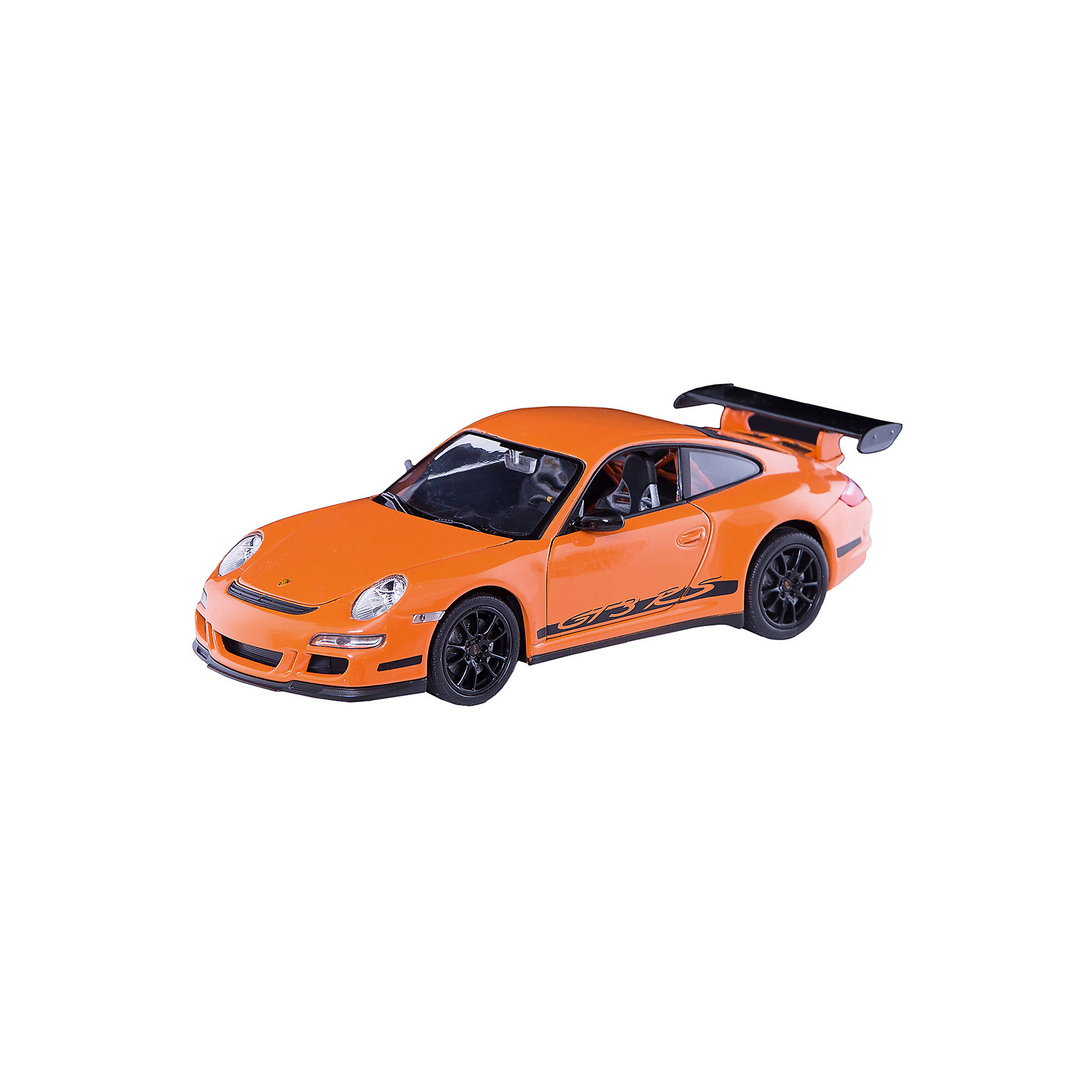 Welly Модель машины 1:24 PORSCHE 911 (997) GT3 RS, Welly welly welly гараж 3 машины и вертолет