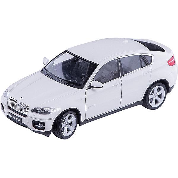 Модель машины 1:24 BMW X6, WellyМашинки<br>Модель машины BMW X6 от Welly (Велли) станет замечательным подарком для автолюбителей и коллекционеров всех возрастов. В коллекции масштабных моделей Welly представлено все многообразие автотехники: ретро-автомобили, легковые автомобили различных марок, грузовики, автомобили городских служб и многое другое. Все машинки отличаются высокой степенью детализации и тщательной проработкой всех элементов.<br><br>Машинка BMW X6 красного цвета представляет собой точную копию настоящего внедорожника в масштабе 1:24. Впервые серийная версия BMW X6 была представлена в 2008 году на автосалоне в Детройте и отличается необычным дизайном кузова, сочетающем в себе внедорожник и купе. Модель от Welly оснащена прочными стеклами и зеркалами заднего вида, интерьер салона, двигатель и органы управления тщательно проработаны. Двери и капот открываются, колеса вращаются. Корпус машинки выполнен из металла, а отделка салона и декоративные элементы из пластика.<br><br>Дополнительная информация:<br><br>- Материал: металл, пластик, колеса прорезиненные.<br>- Масштаб: 1:24.<br>- Размер модели: 8 х 18 х 5 см.<br>- Размер упаковки: 11 х 23 х 10 см.<br>- Вес: 0,54 кг. <br><br>Модель машины BMW X6, Welly можно купить в нашем интернет-магазине.<br>Ширина мм: 230; Глубина мм: 110; Высота мм: 110; Вес г: 544; Возраст от месяцев: 36; Возраст до месяцев: 192; Пол: Мужской; Возраст: Детский; SKU: 3777890;