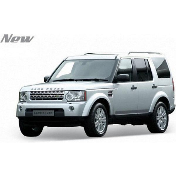 Модель машины 1:24 Land Rover Discovery 4, WellyМашинки<br>Модель машины Land Rover Discovery 4 от Welly (Велли) станет замечательным подарком для автолюбителей и коллекционеров всех возрастов. В коллекции масштабных моделей Welly представлено все многообразие автотехники: ретро-автомобили, легковые автомобили различных марок, грузовики, автомобили городских служб и многое другое. Все машинки отличаются высокой степенью детализации и тщательной проработкой всех элементов.<br><br>Машинка Land Rover Discovery 4 металлического оттенка представляет собой точную копию настоящего автомобиля в масштабе 1:24. Внедорожник Land Rover Discovery 4 выпускается с 2009 года, его отличительная особенность - огромный салон  и невероятные возможности на бездорожье. Модель от Welly оснащена прочными стеклами и зеркалами заднего вида, интерьер салона, двигатель и органы управления тщательно проработаны. Двери и капот открываются, а колеса можно поворачивать с помощью руля. Корпус автомобиля выполнен из металла, а отделка салона и декоративные элементы из пластика.<br><br>Дополнительная информация:<br><br>- Материал: металл, пластик, колеса прорезиненные.<br>- Масштаб: 1:24.<br>- Размер модели: 7 х 18 х 8 см.<br>- Размер упаковки: 11 х 23 х 11 см.<br>- Вес: 0,5 кг. <br><br>Модель машины Land Rover Discovery 4, Welly можно купить в нашем интернет-магазине.<br><br>Ширина мм: 120<br>Глубина мм: 230<br>Высота мм: 100<br>Вес г: 592<br>Возраст от месяцев: 36<br>Возраст до месяцев: 192<br>Пол: Мужской<br>Возраст: Детский<br>SKU: 3777892